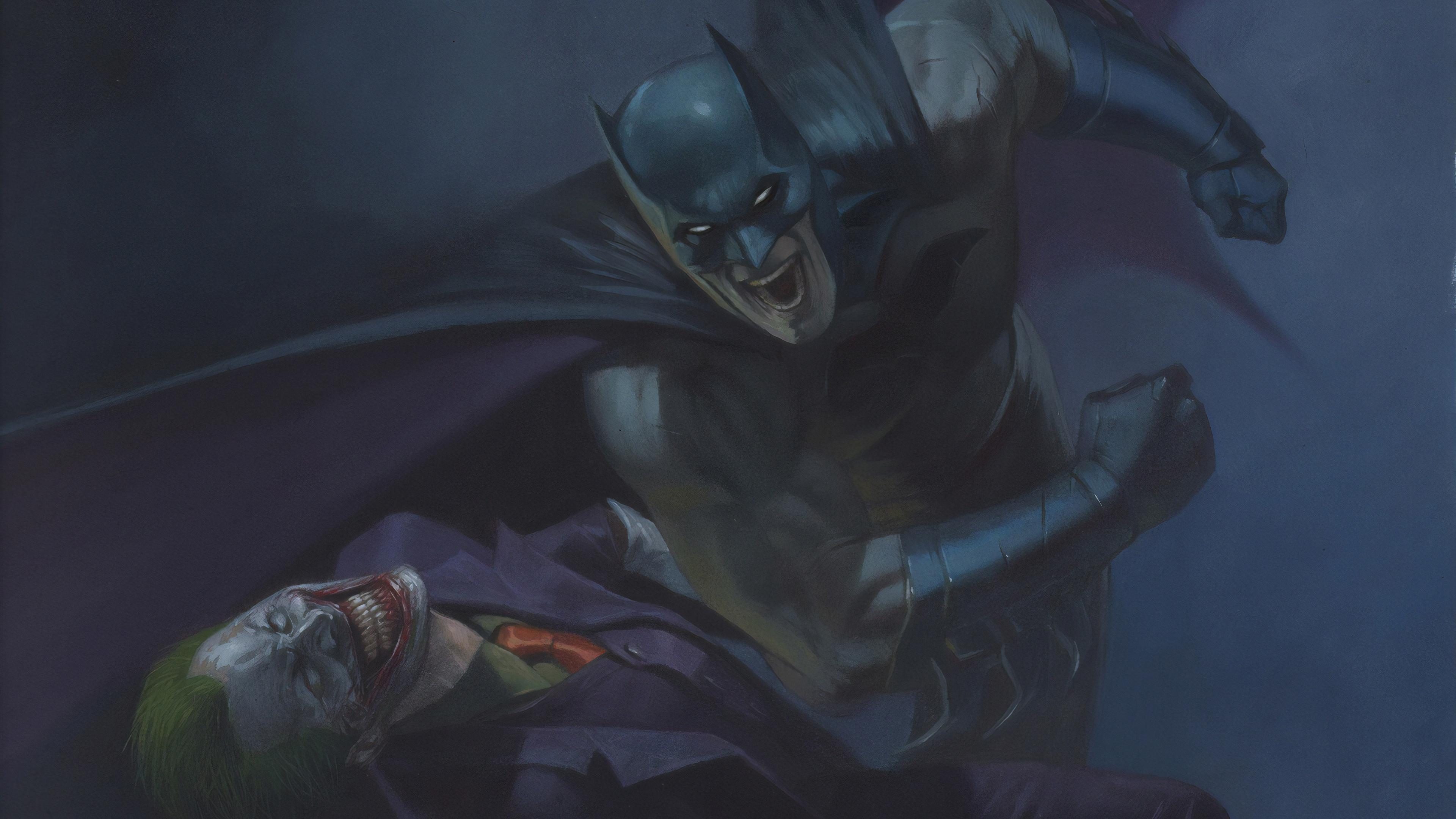 batman vs joker new 1565053049 - Batman Vs Joker New - superheroes wallpapers, joker wallpapers, hd-wallpapers, dc comics wallpapers, batman wallpapers, artstation wallpapers, 4k-wallpapers