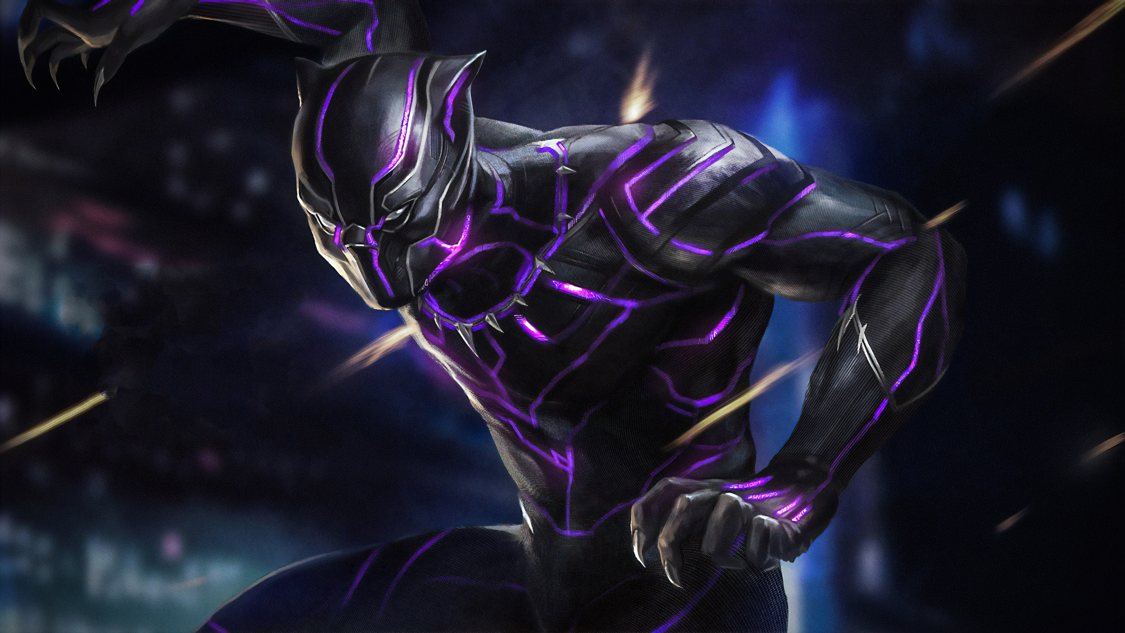 black panther new 1565054216 - Black Panther New - superheroes wallpapers, hd-wallpapers, black panther wallpapers, artwork wallpapers, artstation wallpapers, 4k-wallpapers