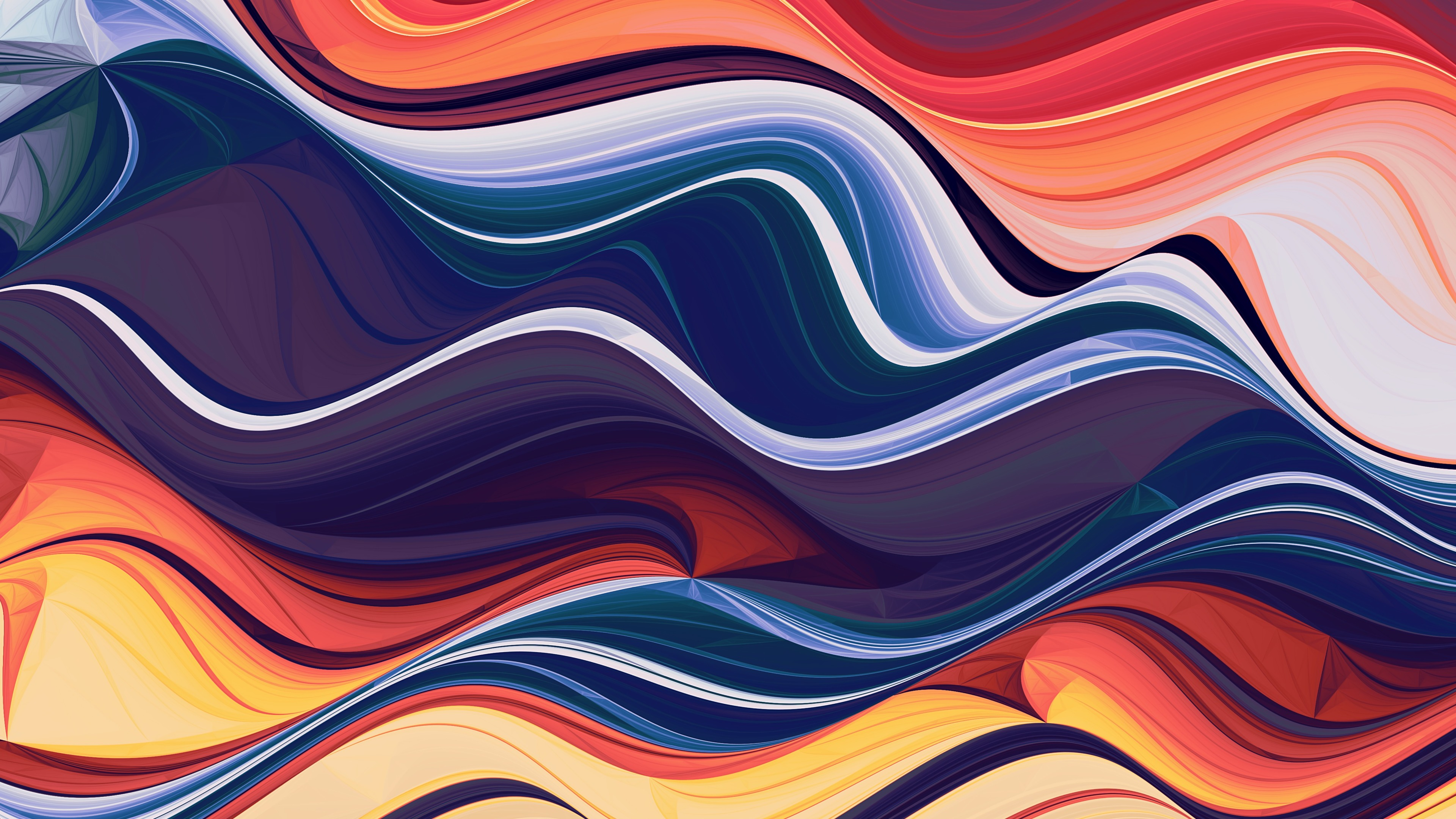 colorful abstraction waves 1565055991 - Colorful Abstraction Waves - waves wallpapers, hd-wallpapers, deviantart wallpapers, colorful wallpapers, abstract wallpapers, 4k-wallpapers