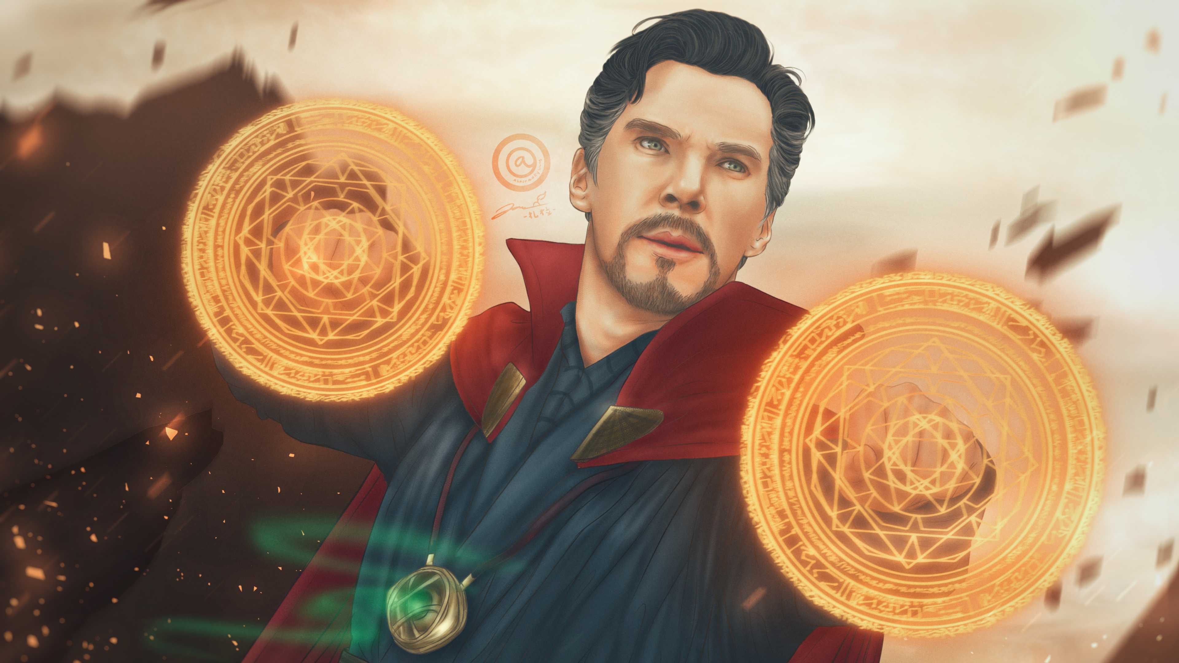 doctor strange art 1565052849 - Doctor Strange art - superheroes wallpapers, hd-wallpapers, doctor strange wallpapers, digital art wallpapers, artwork wallpapers, 4k-wallpapers