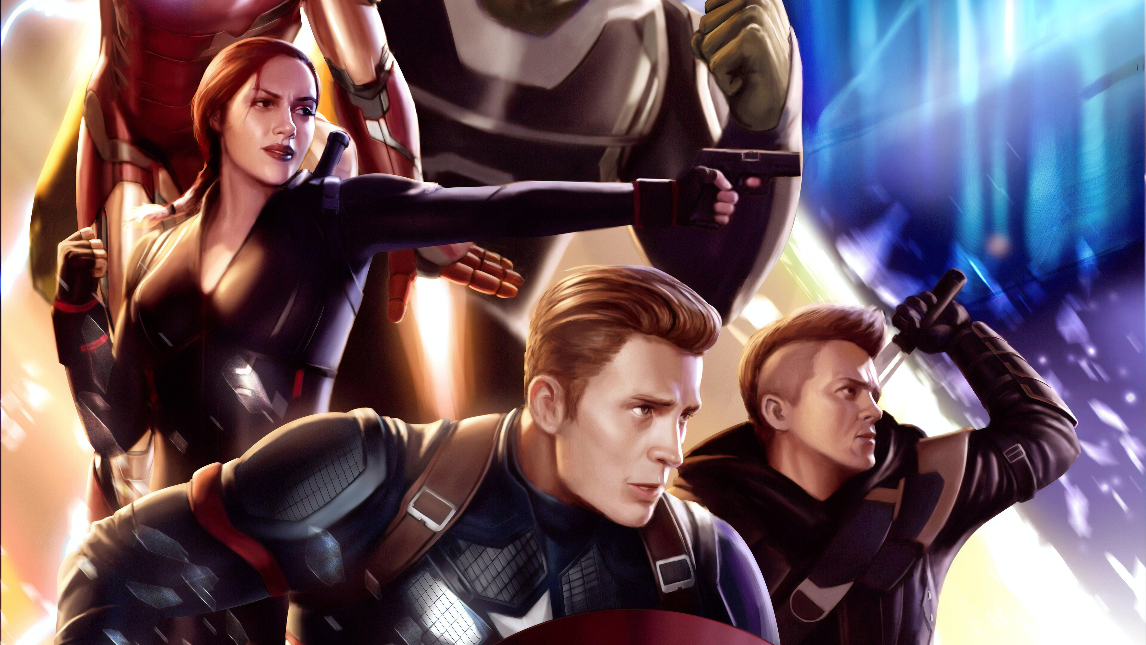 endgame art 1565053945 - Endgame Art - superheroes wallpapers, hd-wallpapers, captain america wallpapers, black widow wallpapers, avengers endgame wallpapers, artwork wallpapers, 4k-wallpapers