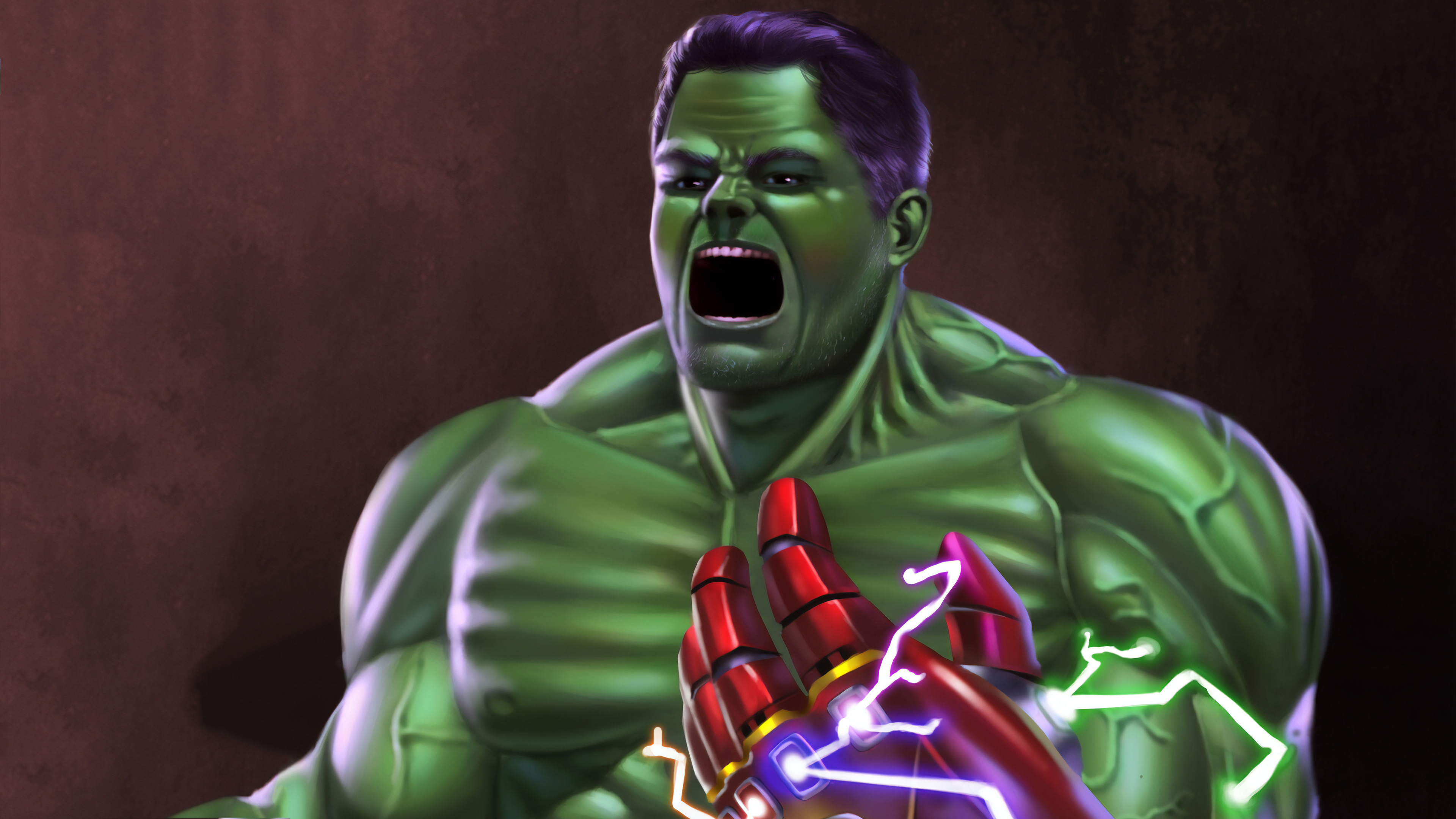 Wallpaper 4k Hulk Infinity Gauntlet 4k Wallpapers Artwork