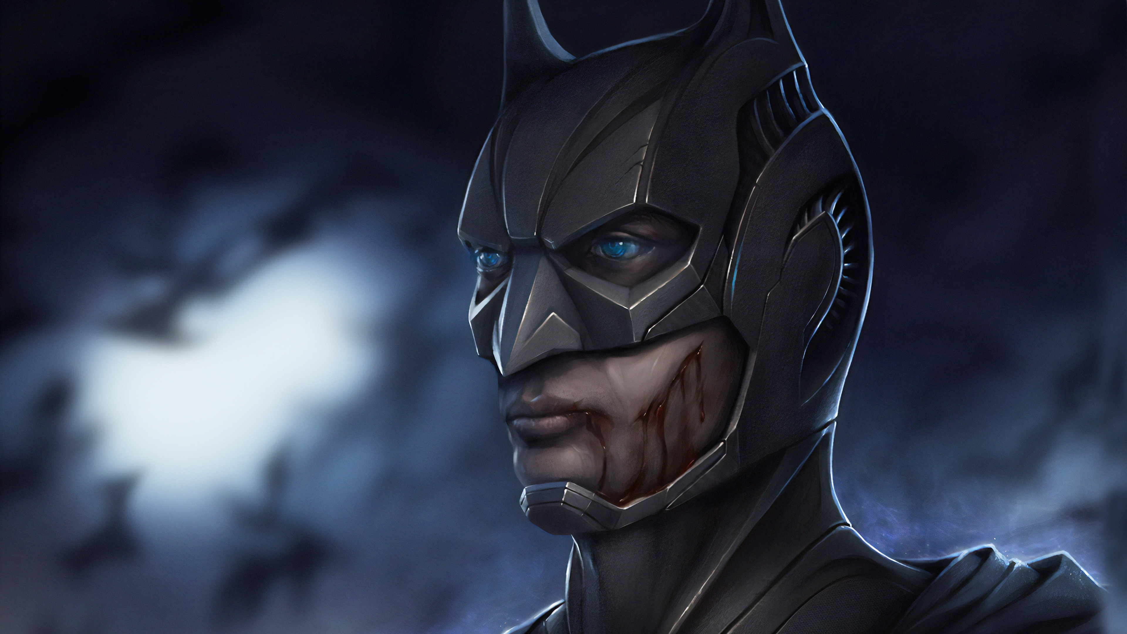 injured batman 1565053684 - Injured Batman - superheroes wallpapers, hd-wallpapers, digital art wallpapers, deviantart wallpapers, batman wallpapers, artwork wallpapers, 4k-wallpapers