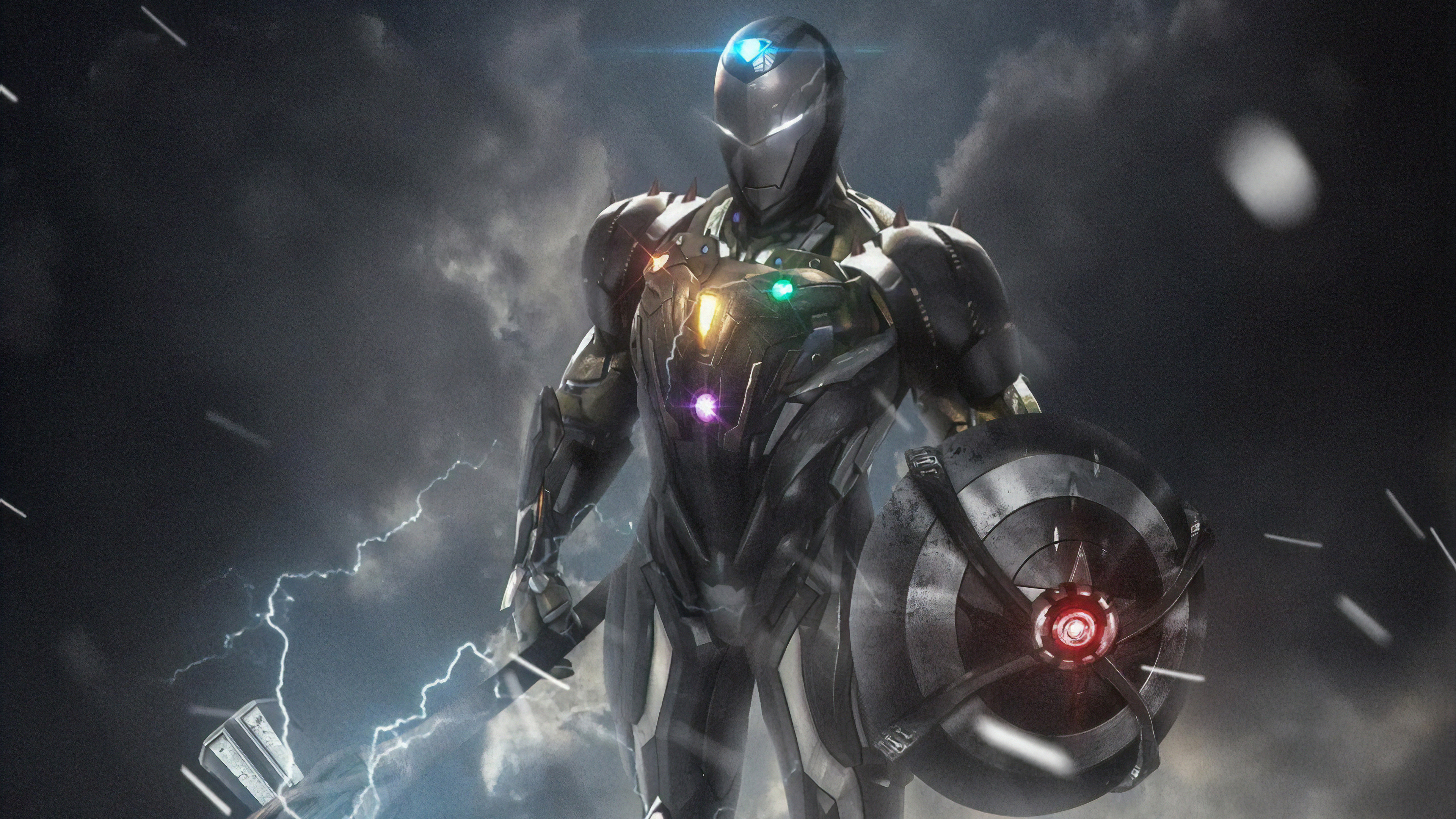 iron man digital 1565053942 - Iron Man Digital - superheroes wallpapers, iron man wallpapers, hd-wallpapers, digital art wallpapers, artwork wallpapers, 4k-wallpapers