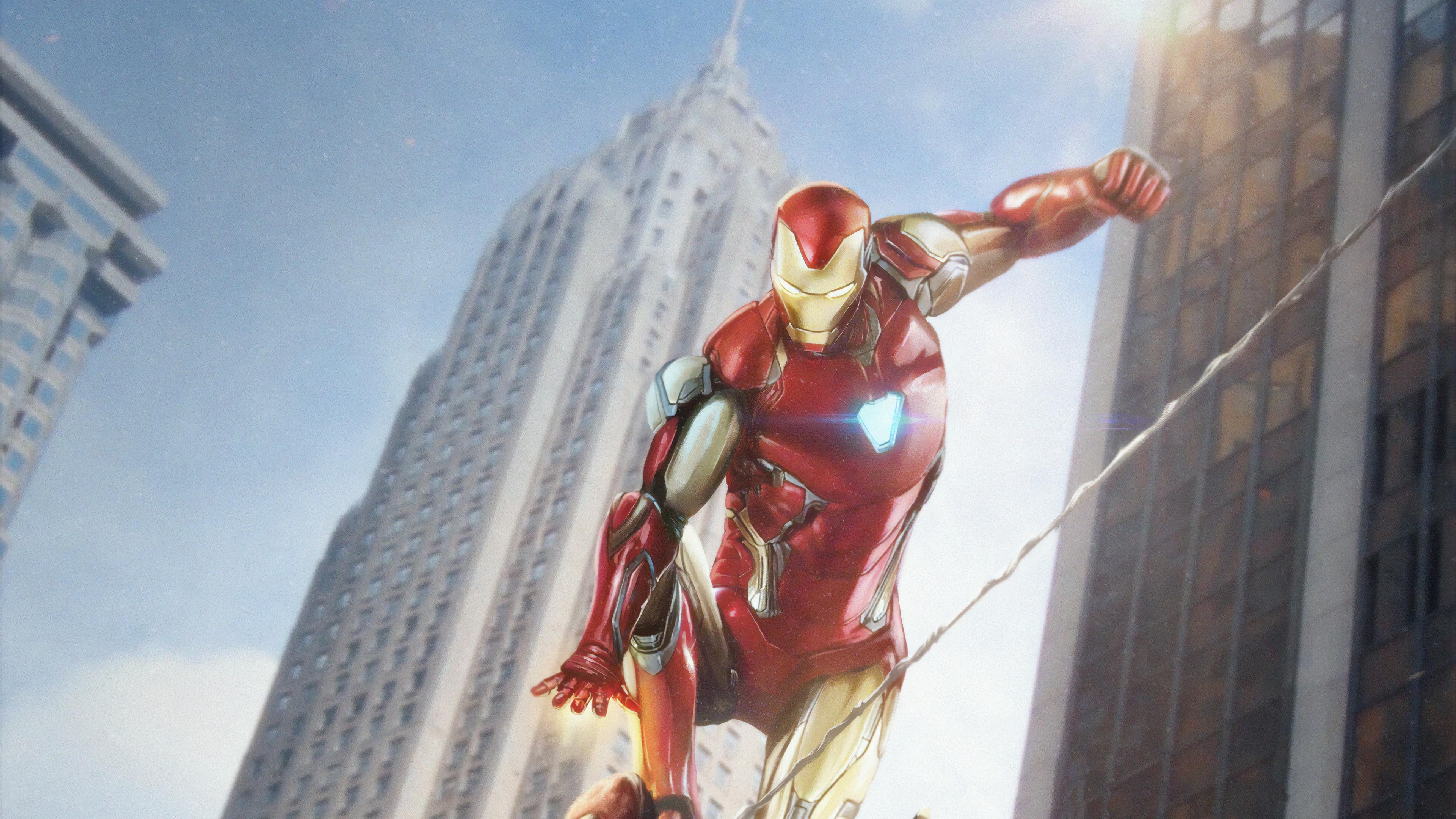 iron man vs spiderman 1565053829 - Iron Man Vs Spiderman - superheroes wallpapers, spiderman wallpapers, iron man wallpapers, hd-wallpapers, digital art wallpapers, artwork wallpapers, 4k-wallpapers