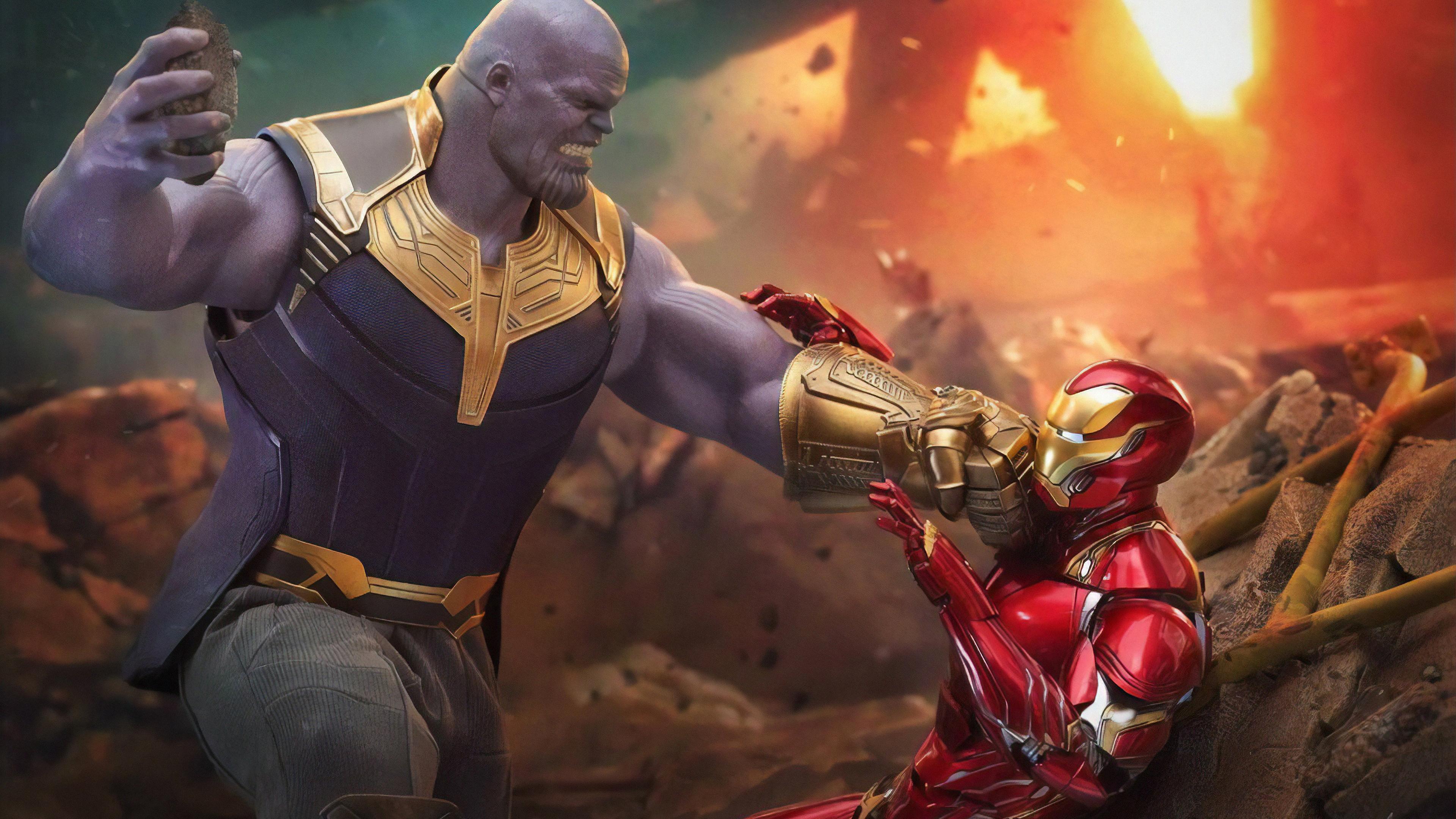 iron man vs thanos 1565053697 - Iron Man Vs Thanos - thanos-wallpapers, superheroes wallpapers, iron man wallpapers, hd-wallpapers, 4k-wallpapers