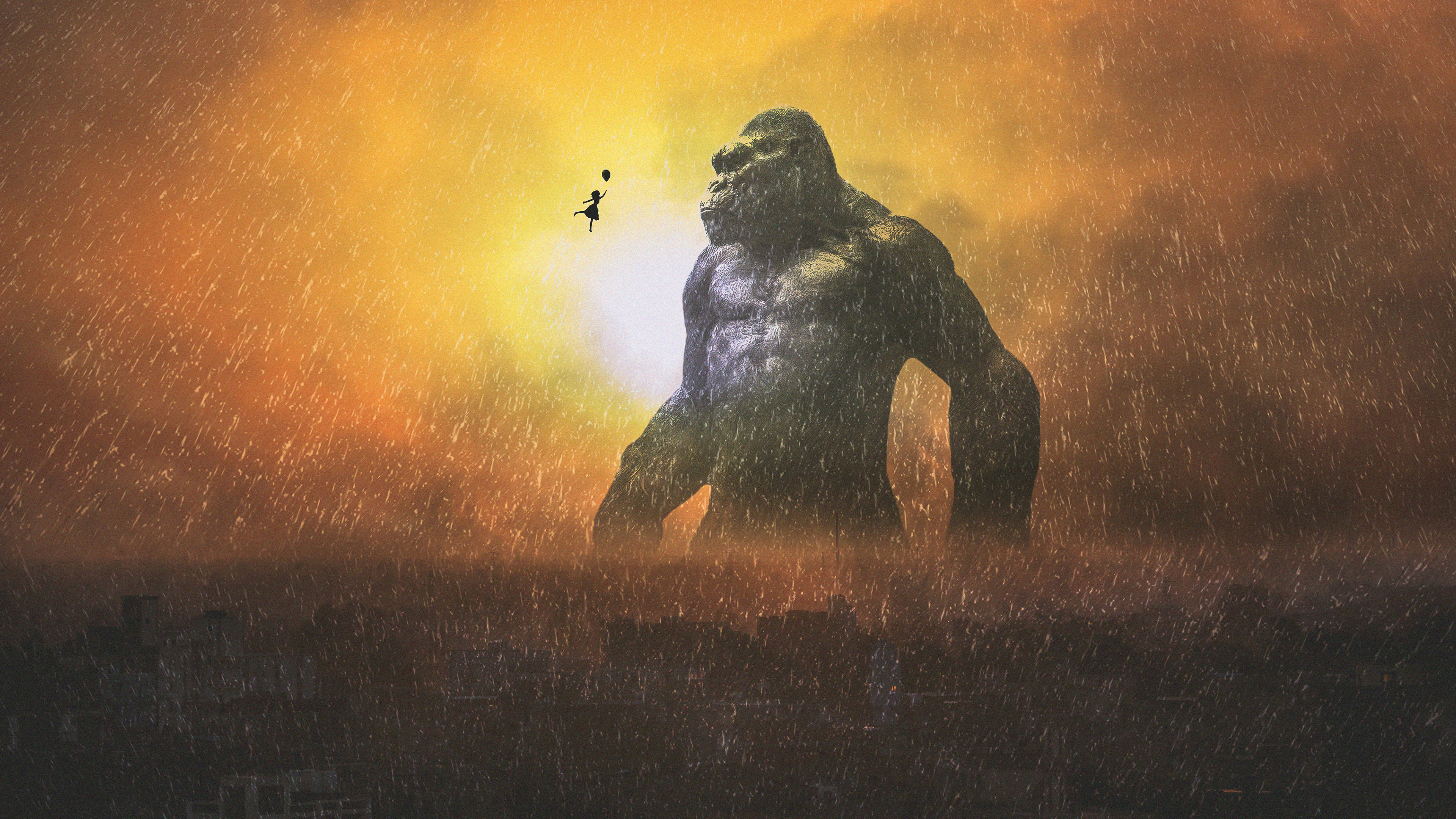 king kong 1565055734 - King Kong - movies wallpapers, king kong wallpapers, hd-wallpapers, behance wallpapers, 4k-wallpapers