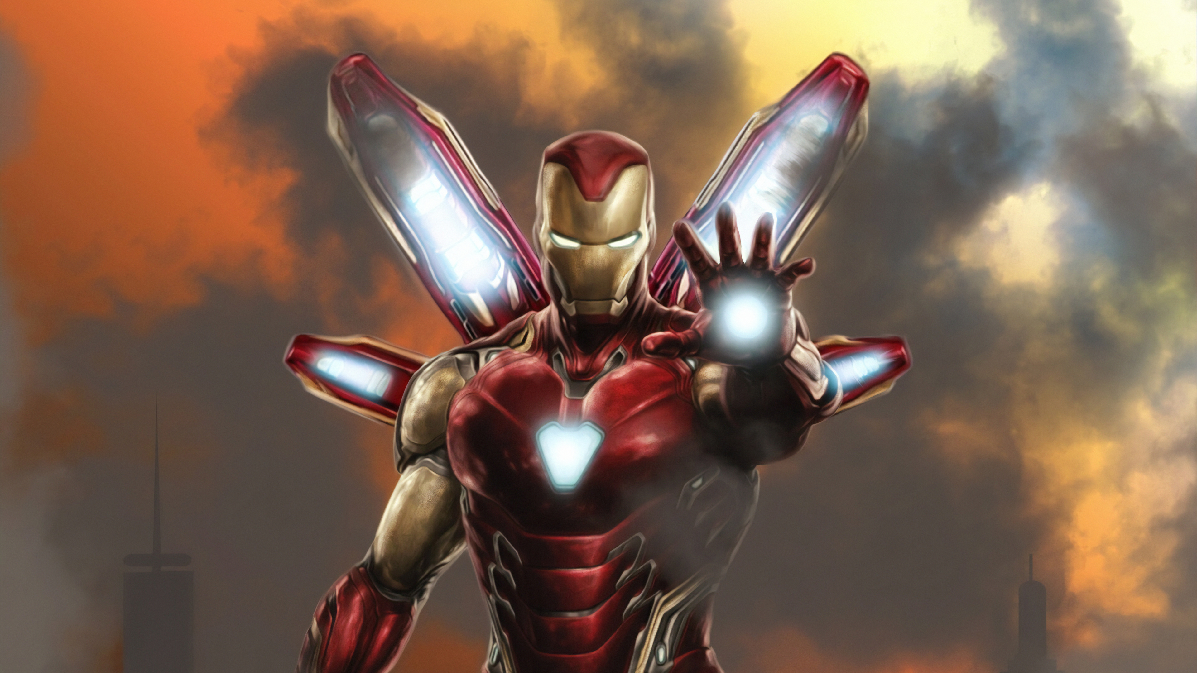 new suit iron man 1565053825 - New Suit Iron Man - superheroes wallpapers, iron man wallpapers, hd-wallpapers, digital art wallpapers, artwork wallpapers, artstation wallpapers, 4k-wallpapers