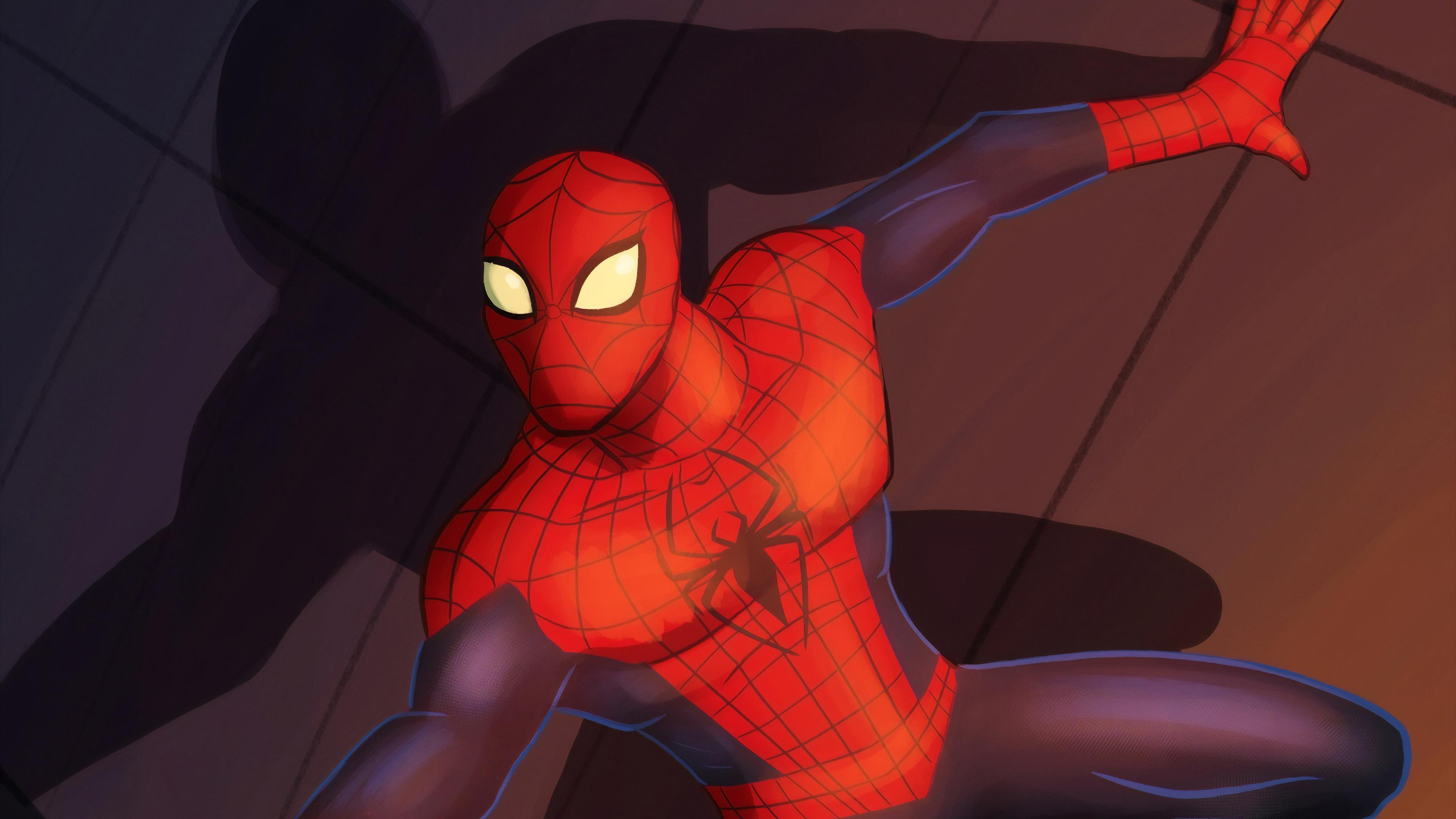 spider man digital art 1565053039 - Spider Man Digital Art - superheroes wallpapers, spiderman wallpapers, hd-wallpapers, digital art wallpapers, artwork wallpapers, artstation wallpapers, artist wallpapers, 4k-wallpapers