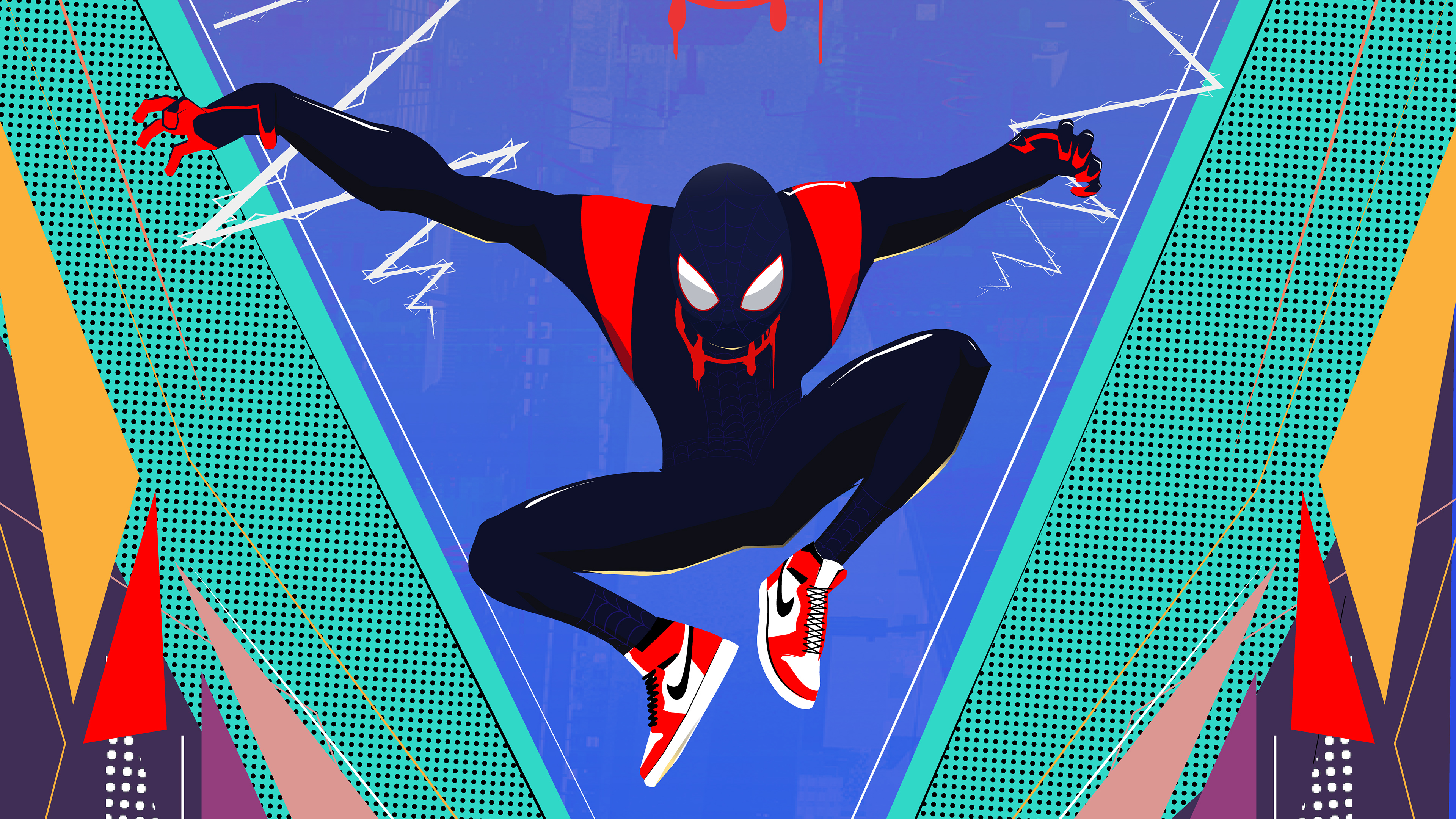 spider man miles morales new 1565053353 - Spider Man Miles Morales New - superheroes wallpapers, spiderman wallpapers, hd-wallpapers, digital art wallpapers, behance wallpapers, artwork wallpapers, art wallpapers, 4k-wallpapers