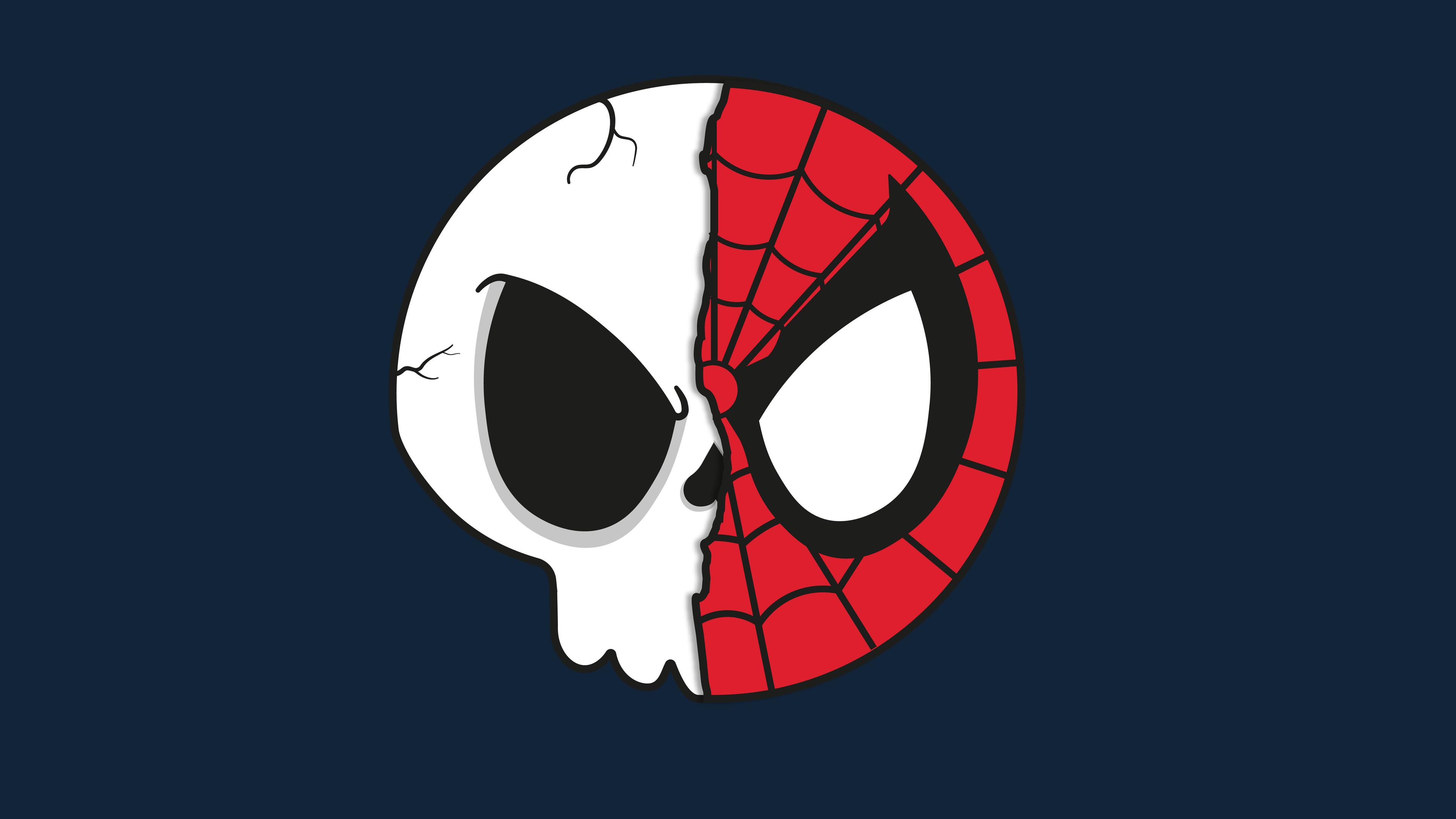 spider skull 1565052876 - Spider Skull - superheroes wallpapers, spiderman wallpapers, hd-wallpapers, digital art wallpapers, artwork wallpapers, 5k wallpapers, 4k-wallpapers