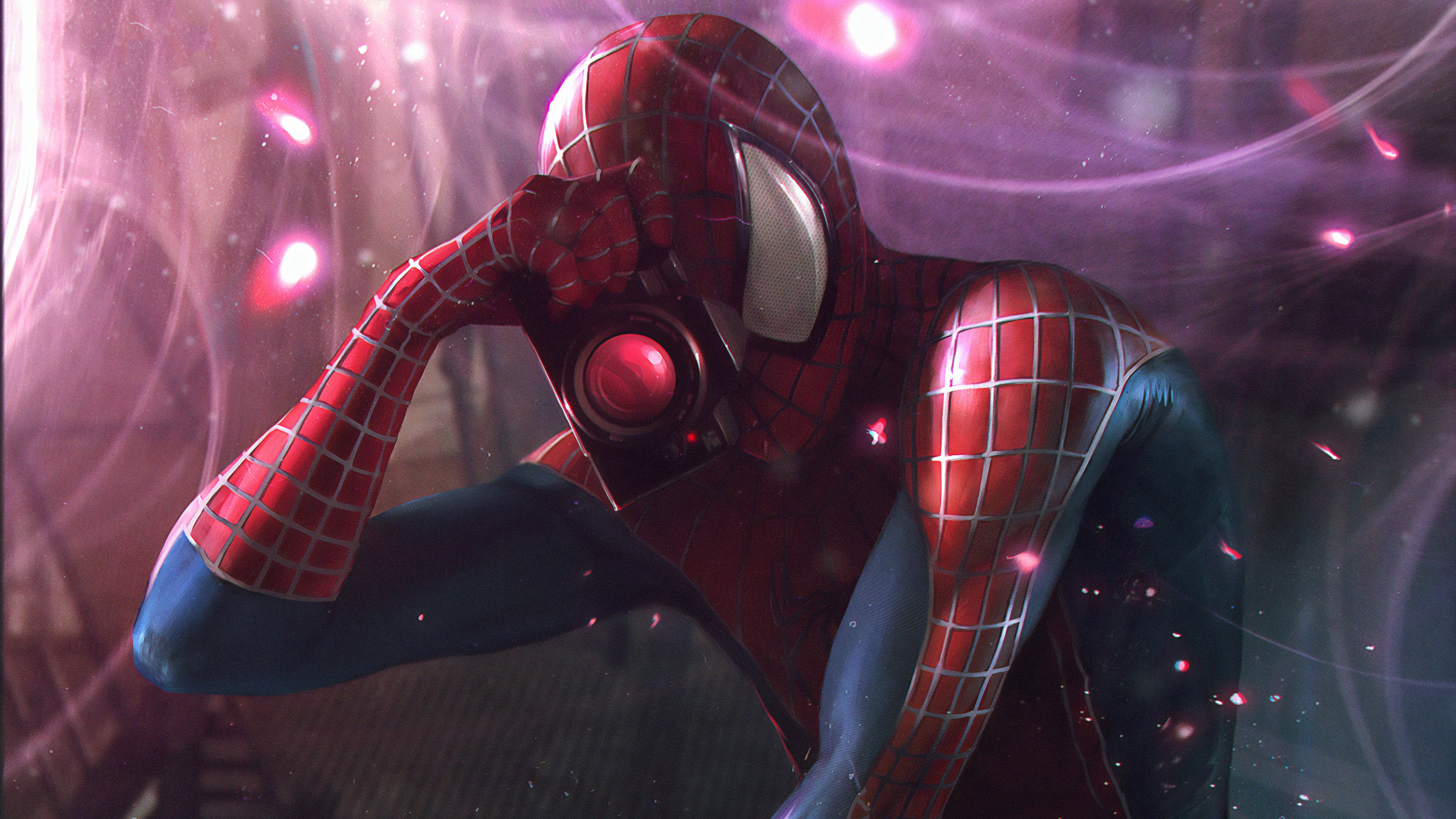 spiderman clicking pictures 1565054205 - Spiderman Clicking Pictures - superheroes wallpapers, spiderman wallpapers, hd-wallpapers, behance wallpapers, artwork wallpapers, 4k-wallpapers