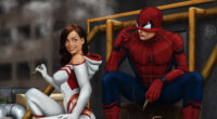 spiderman with gwen stacy 1565052928 200x110 - Spiderman With Gwen Stacy - superheroes wallpapers, spiderman wallpapers, hd-wallpapers, gwen stacy wallpapers, artwork wallpapers, 4k-wallpapers
