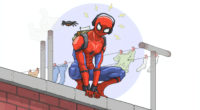 spidey after school 1565053794 200x110 - Spidey After School - superheroes wallpapers, spiderman wallpapers, hd-wallpapers, dribbble wallpapers, digital art wallpapers, artwork wallpapers, artist wallpapers, 4k-wallpapers