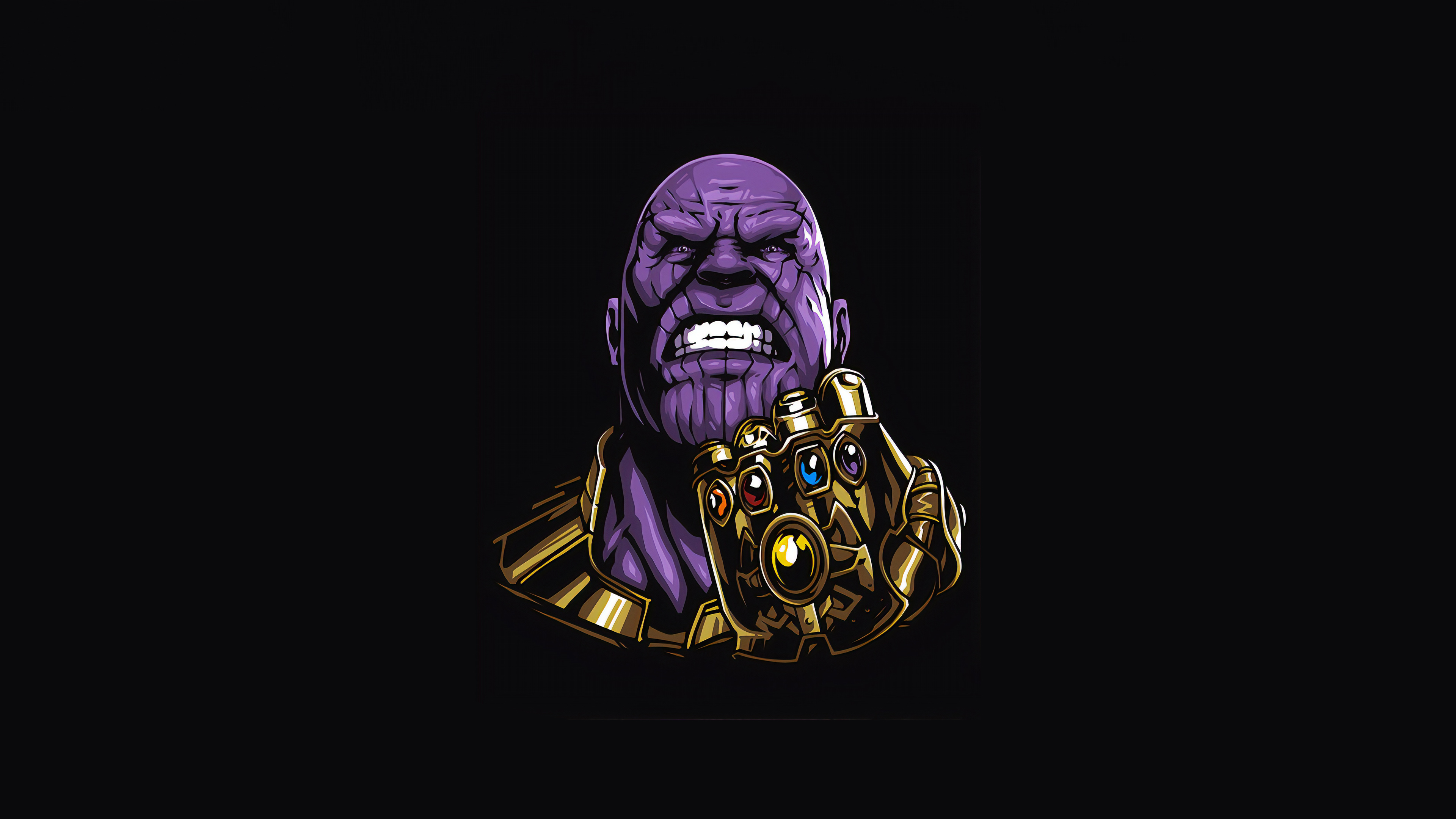thanos minimal 1565053271 - Thanos Minimal - thanos-wallpapers, superheroes wallpapers, minimalist wallpapers, minimalism wallpapers, hd-wallpapers, digital art wallpapers, behance wallpapers, artwork wallpapers, artist wallpapers, 4k-wallpapers