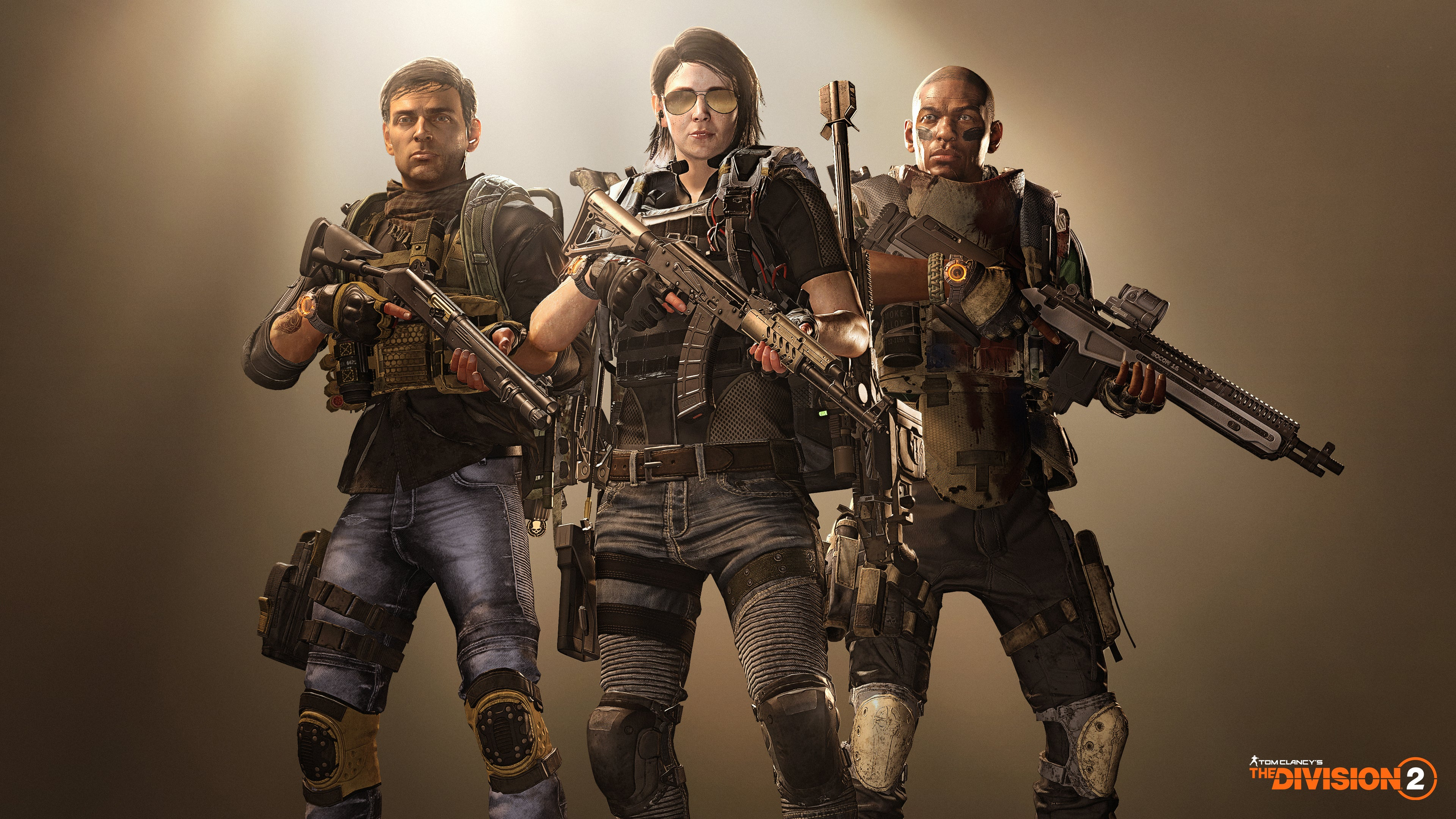 Wallpaper 4k The Division 2 Hard Wired 2019 Games Wallpapers