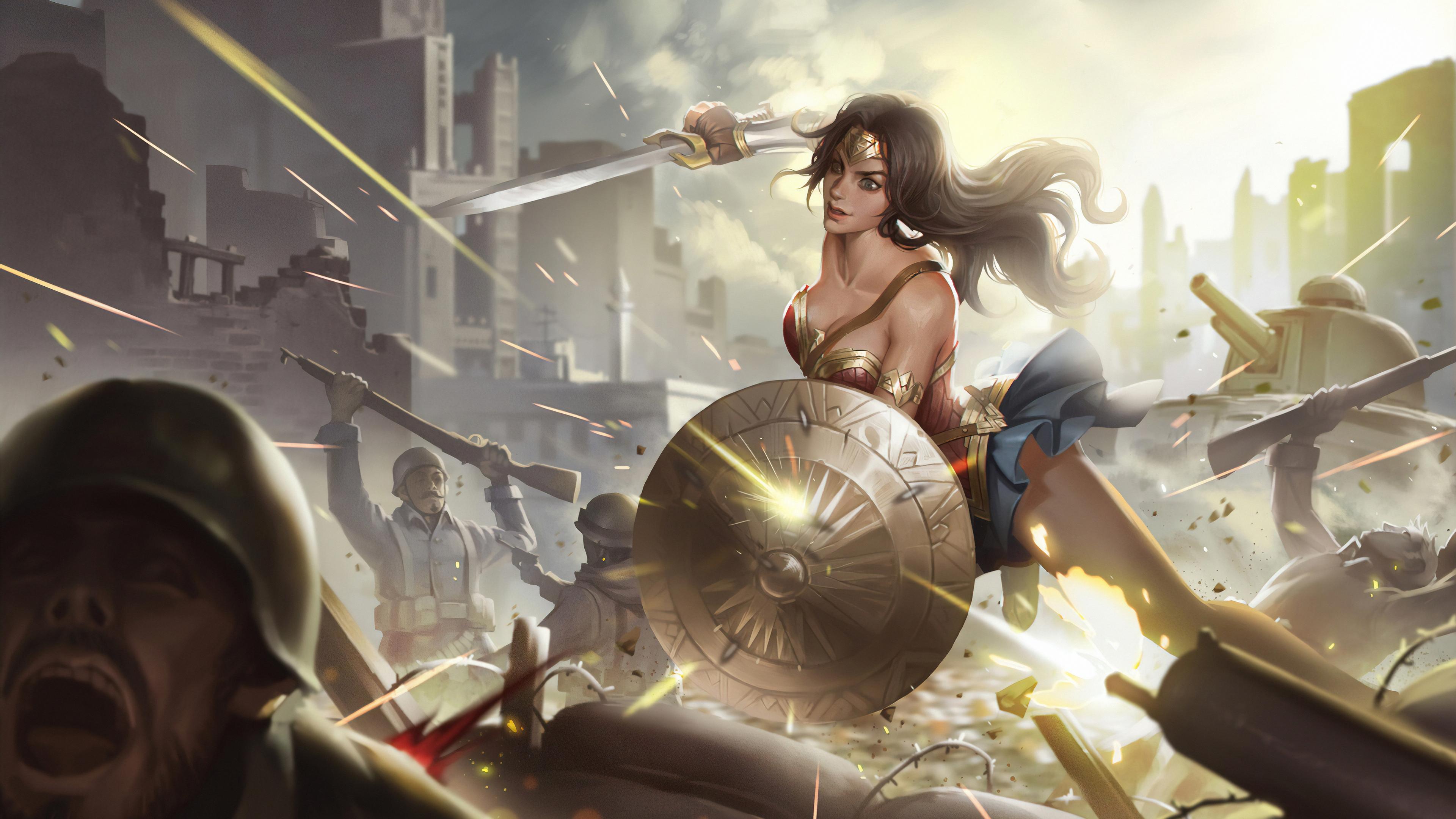 wonder woman new 1565054147 - Wonder Woman New - wonder woman wallpapers, superheroes wallpapers, hd-wallpapers, digital art wallpapers, artwork wallpapers, artstation wallpapers, 4k-wallpapers