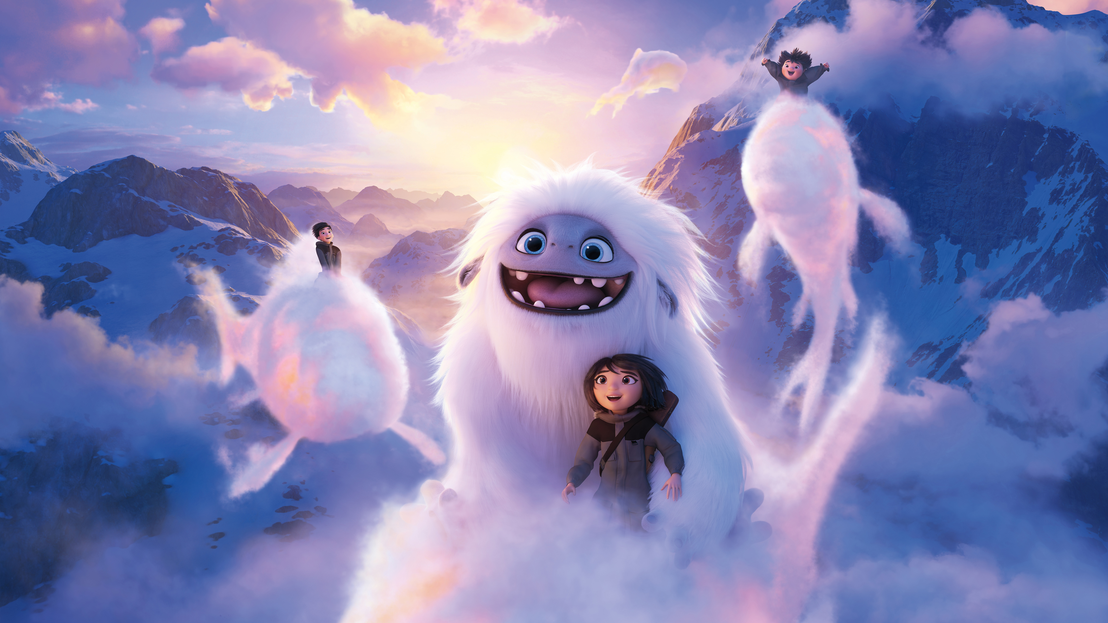 Wallpaper 4k 2019 Abominable Movie 2019 Movies Wallpapers 4k Wallpapers 5k Wallpapers 8k Wallpapers Abominable Wallpapers Animated Movies Wallpapers Hd Wallpapers