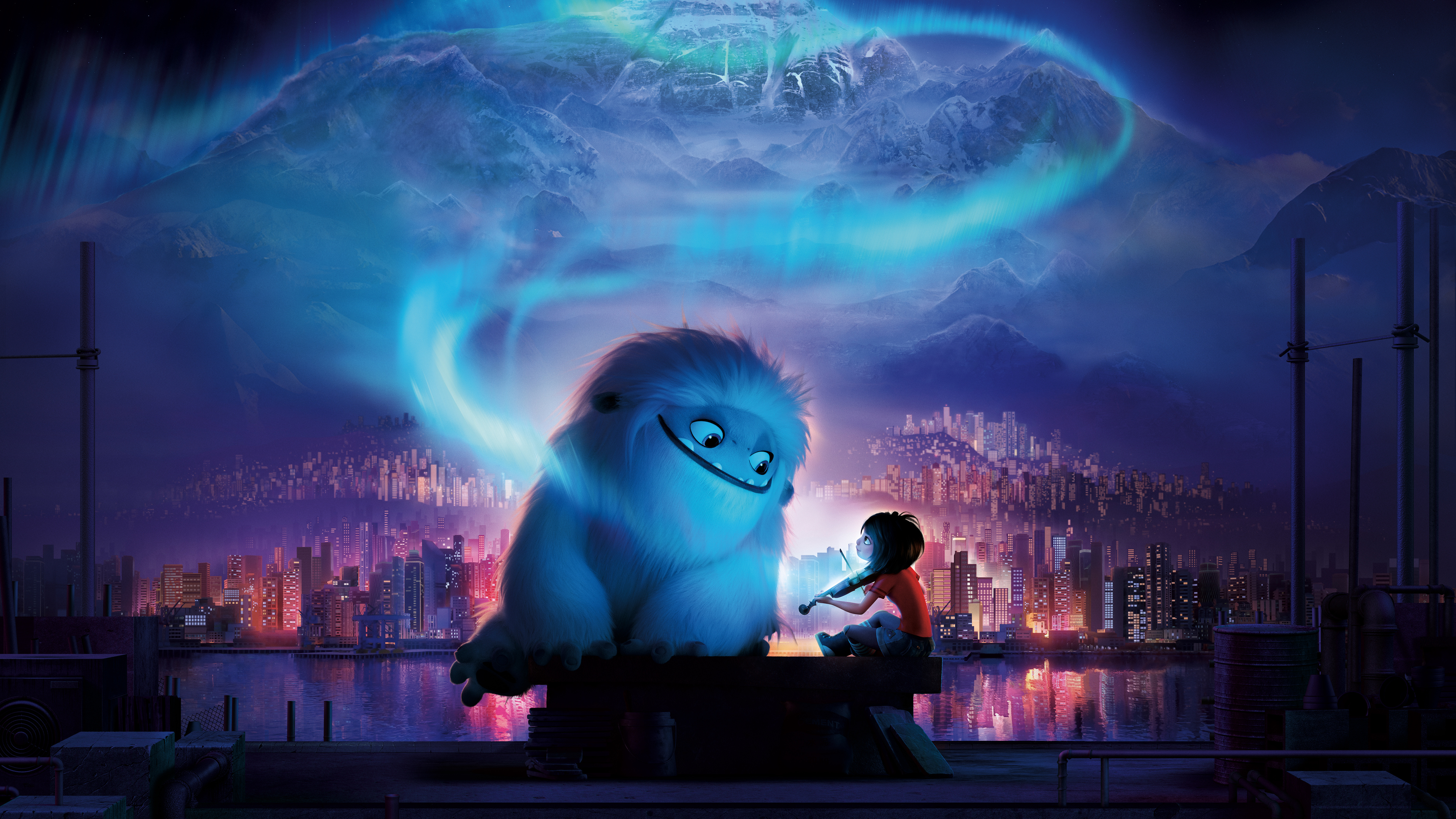 abominable 1569187391 - Abominable - hd-wallpapers, animated movies wallpapers, abominable wallpapers, 8k wallpapers, 5k wallpapers, 4k-wallpapers, 2019 movies wallpapers