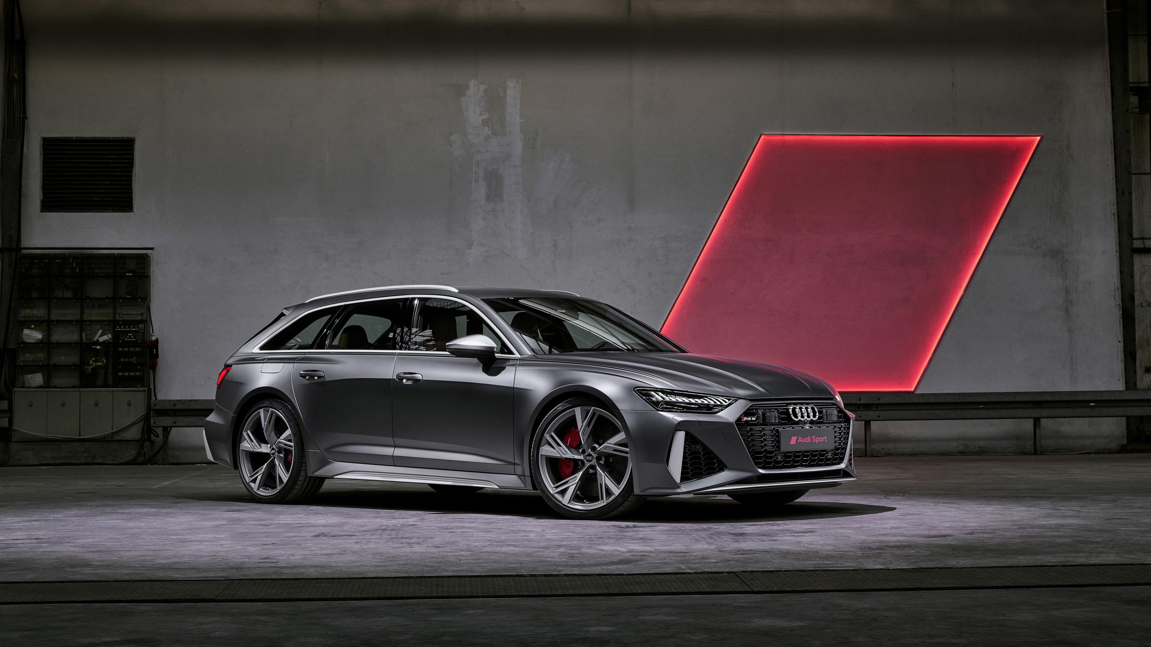 Wallpaper 4k Audi Rs 6 Avant 2019 Front 2019 Cars Wallpapers