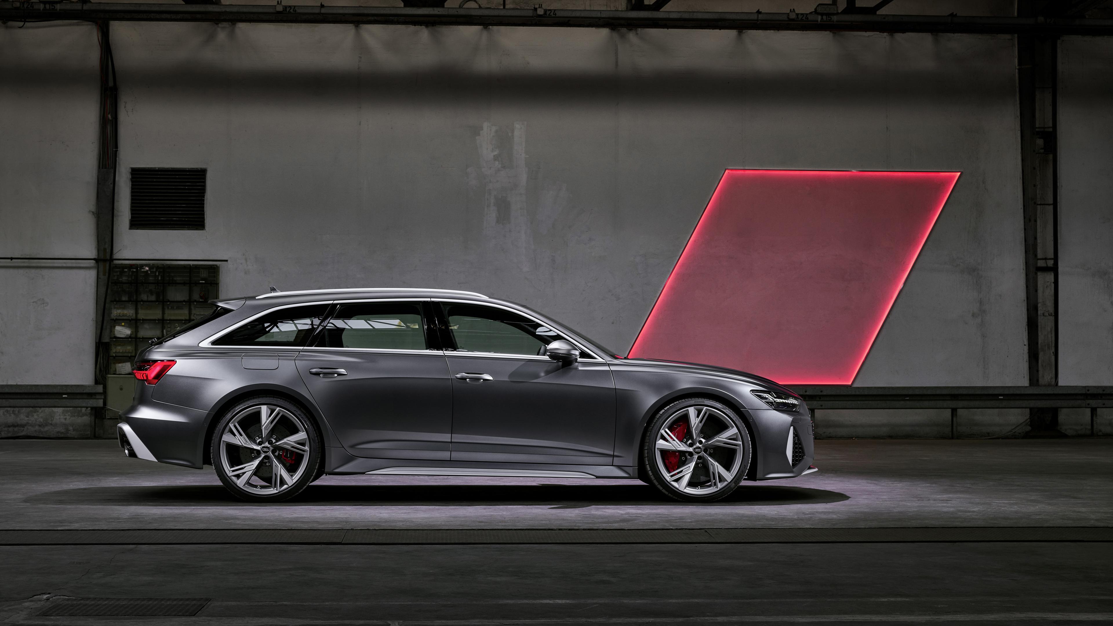 Wallpaper 4k Audi Rs 6 Avant Side View 2019 Cars Wallpapers