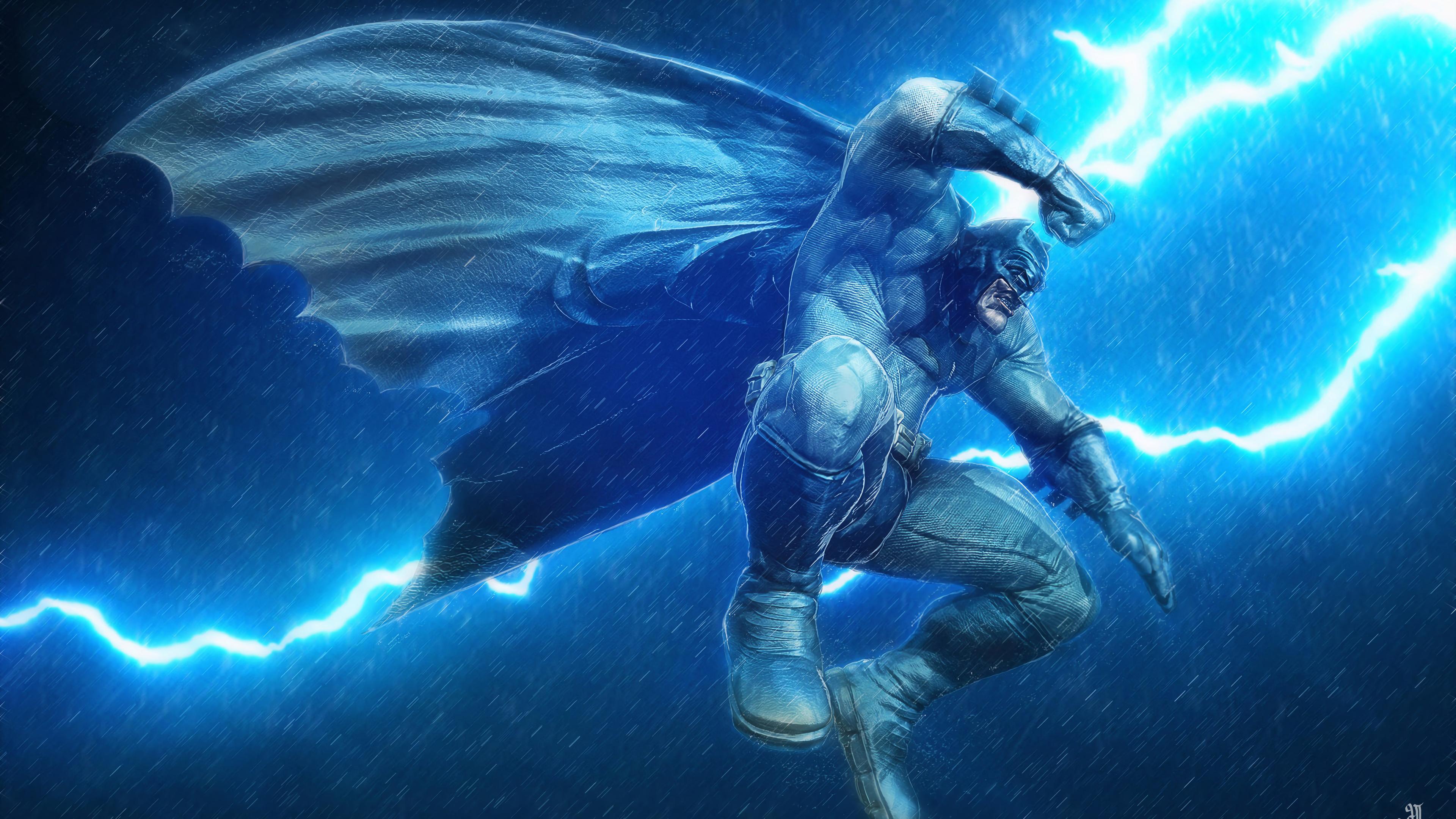 batman in thunder 1568054603 - Batman In Thunder - superheroes wallpapers, hd-wallpapers, digital art wallpapers, batman wallpapers, artwork wallpapers, artstation wallpapers, 4k-wallpapers