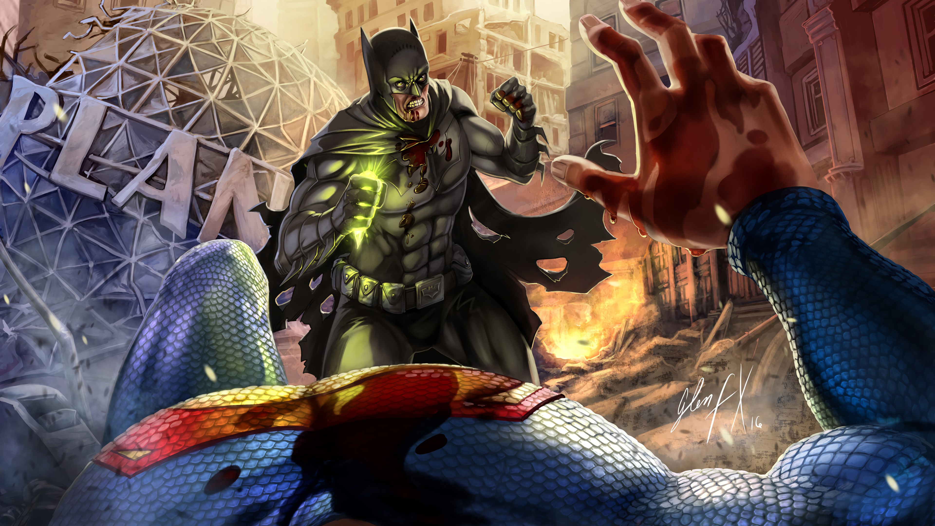 batman killed superman 1568054608 - Batman Killed Superman - superman wallpapers, superheroes wallpapers, hd-wallpapers, digital art wallpapers, batman wallpapers, artwork wallpapers, 4k-wallpapers