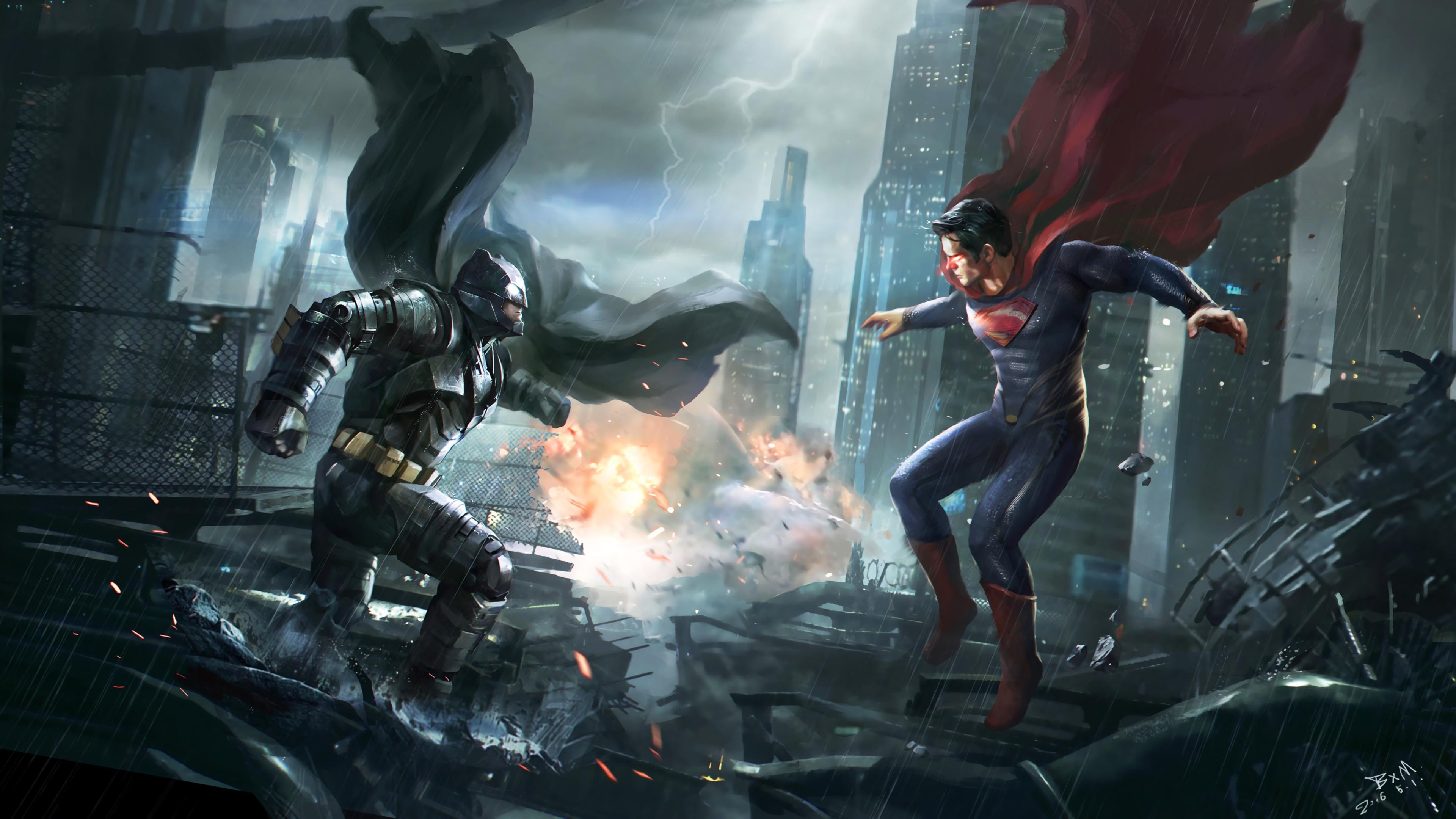 batman super man 1568054596 - Batman Super Man - superman wallpapers, superheroes wallpapers, hd-wallpapers, digital art wallpapers, batman wallpapers, artwork wallpapers, artstation wallpapers, 4k-wallpapers