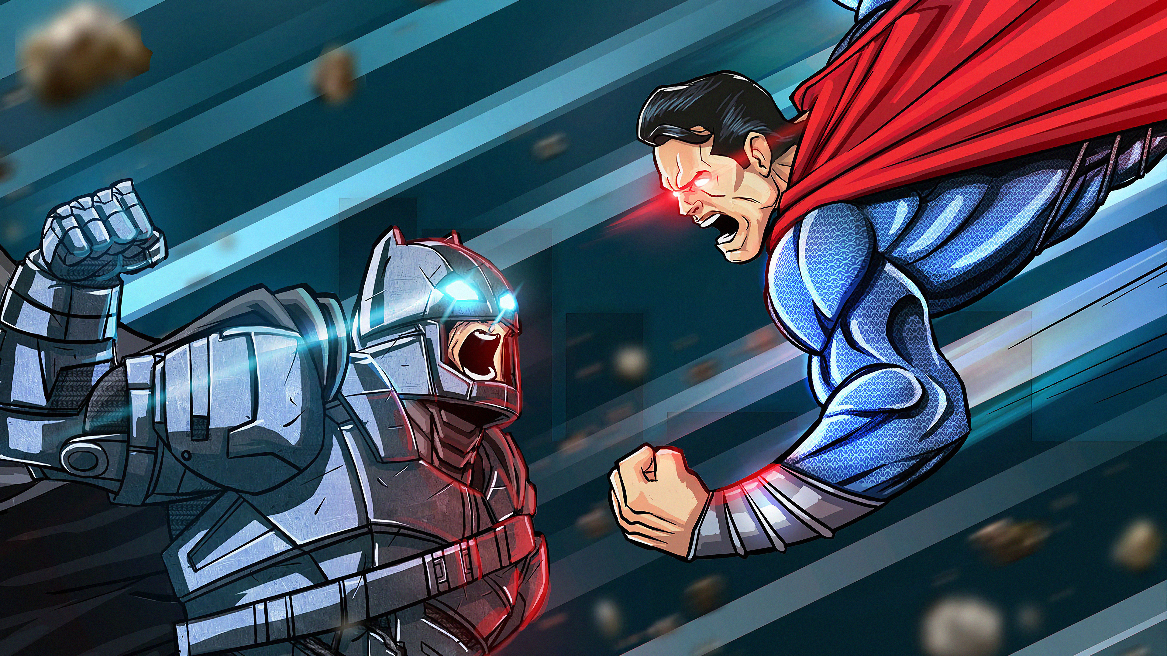 Wallpaper 4k Batman Vs Superman Art 4k Wallpapers Artwork