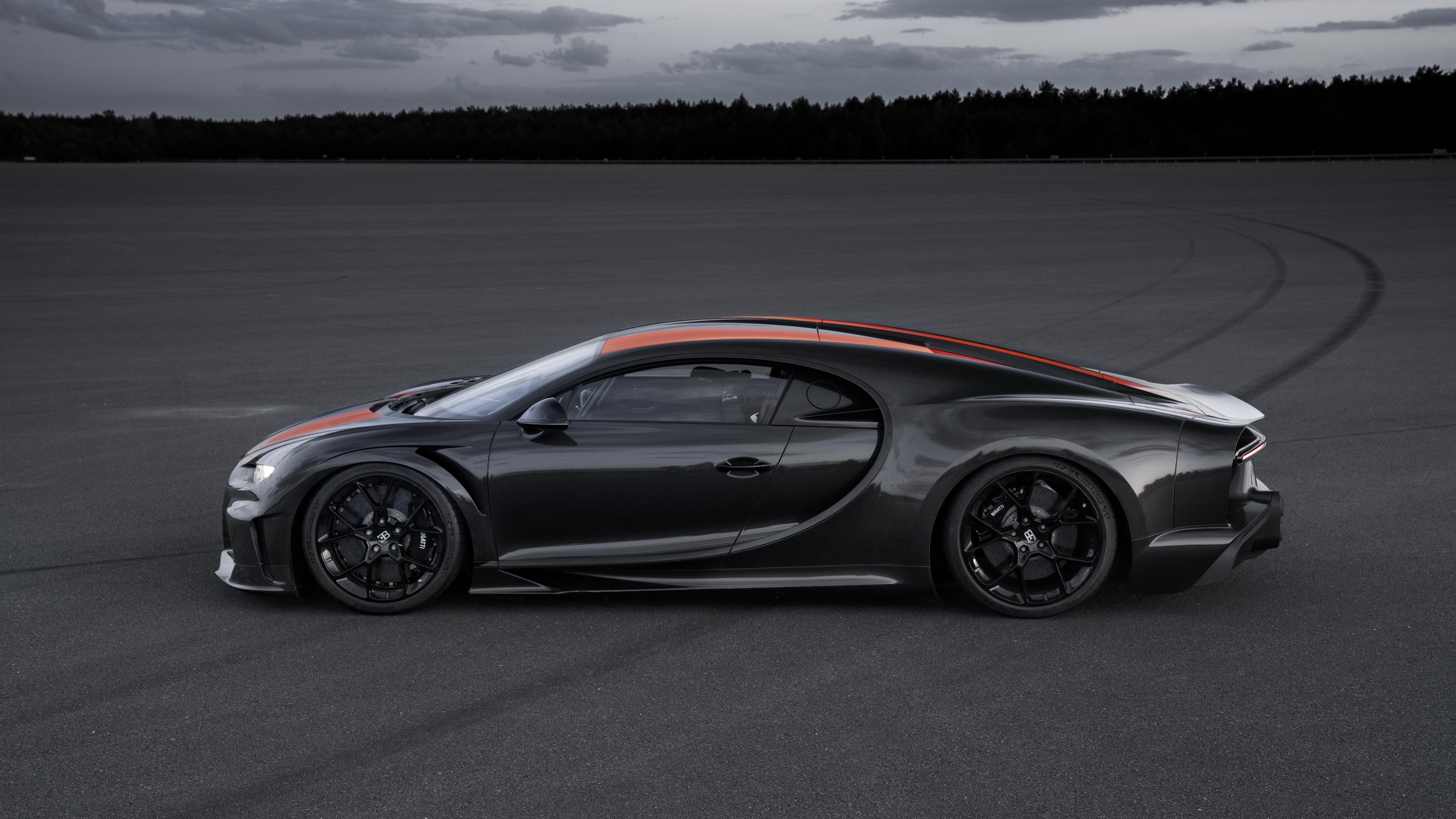 Wallpaper 4k Bugatti Chiron Prototype 2019 Side View 2019