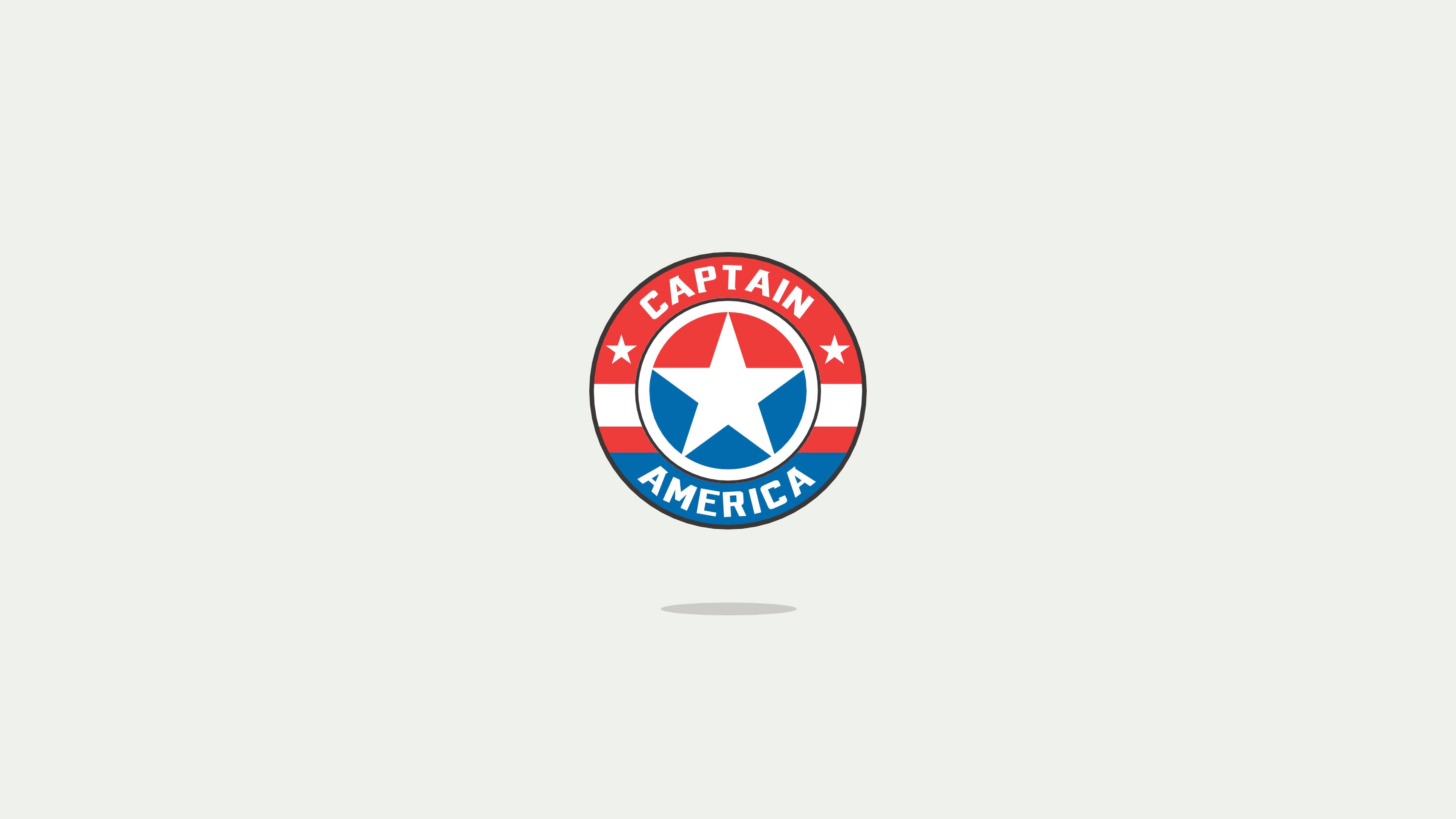 captain america minimal logo 1568055226 - Captain America Minimal Logo - superheroes wallpapers, minimalist wallpapers, minimalism wallpapers, hd-wallpapers, captain america wallpapers, behance wallpapers, 4k-wallpapers
