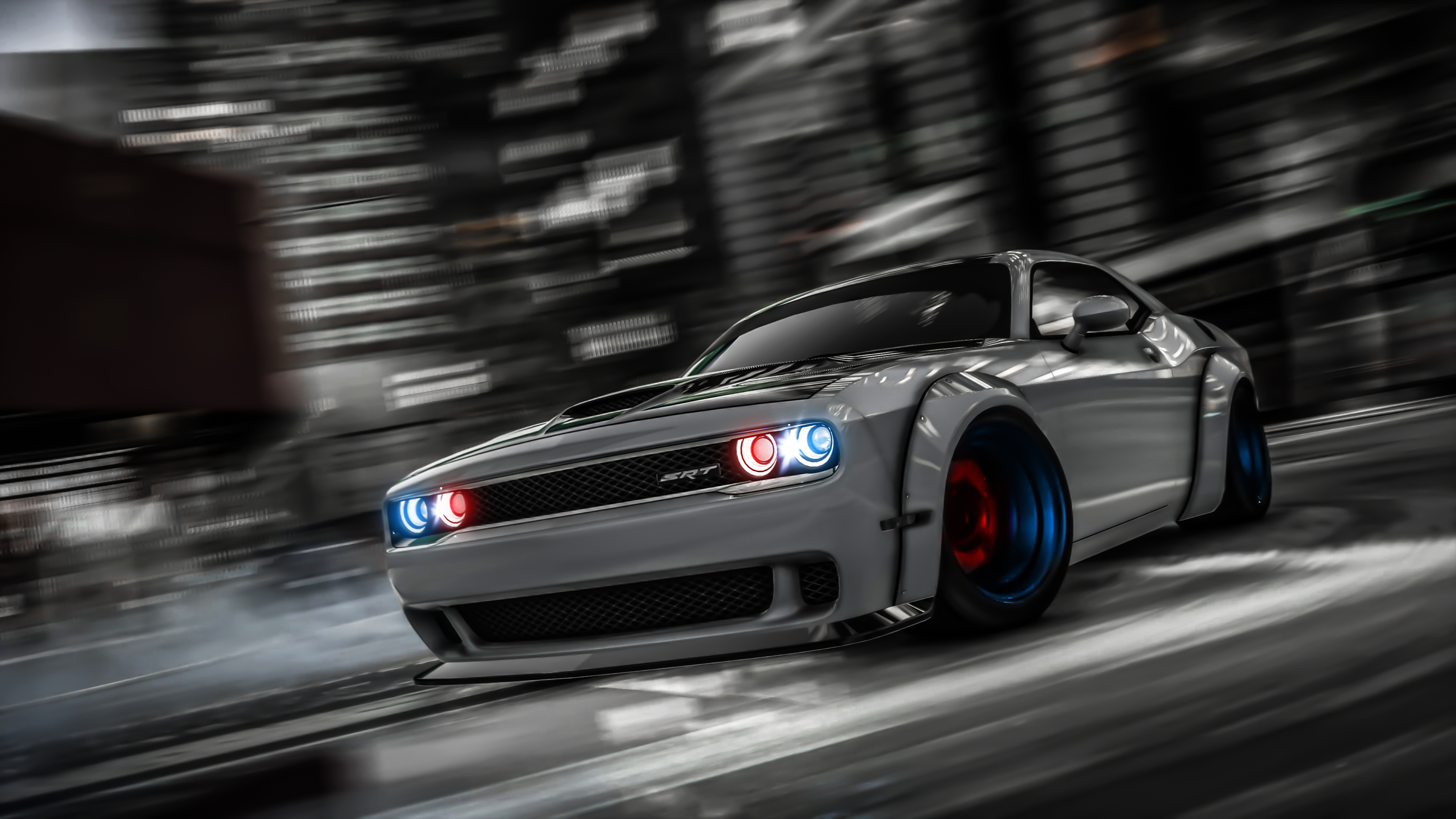 Wallpaper 4k Dodge Challenger Drifting Gta V 4k Wallpapers