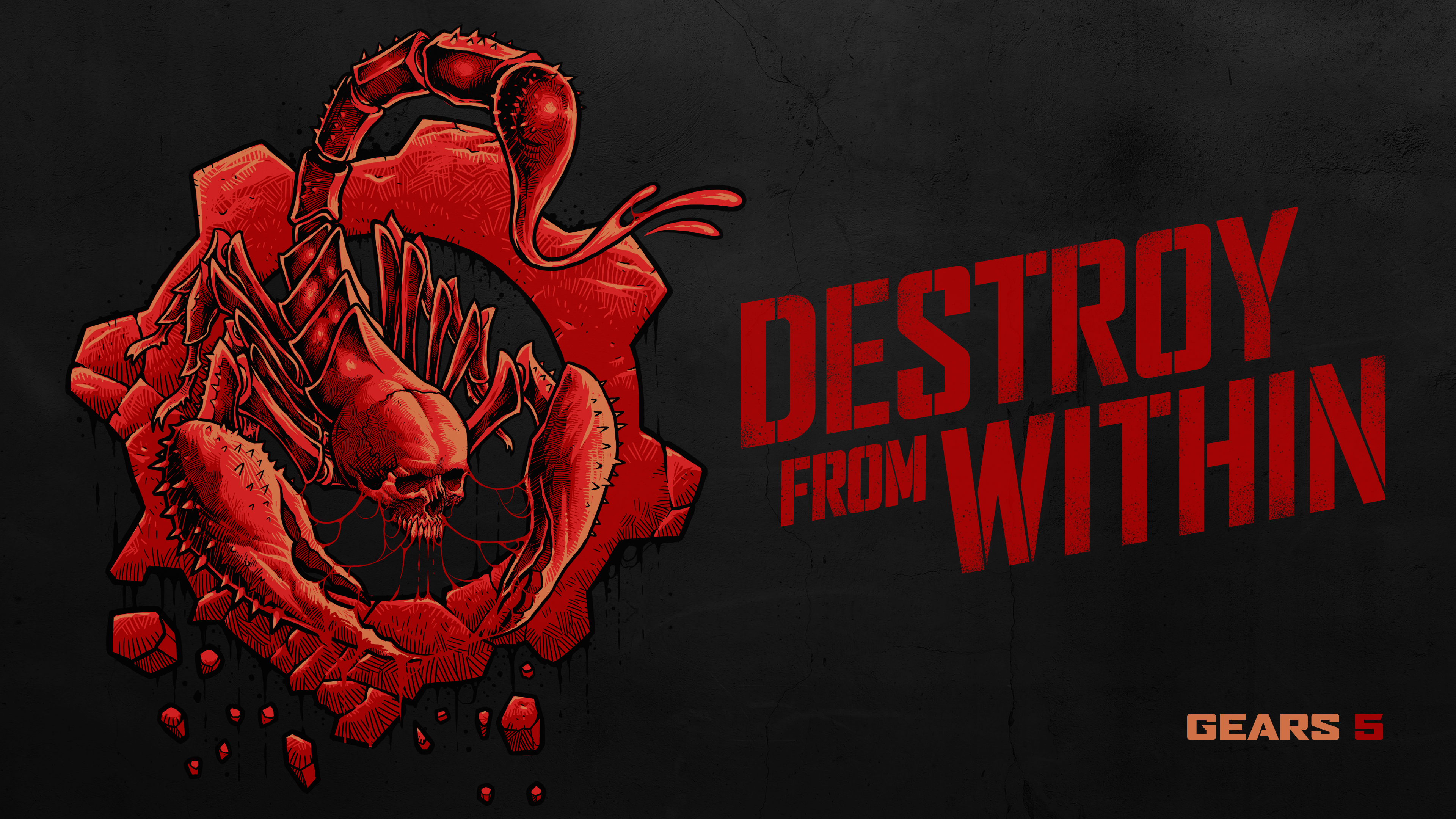 Wallpaper 4k Escape Destroy From Within Gears 5 2019 Games