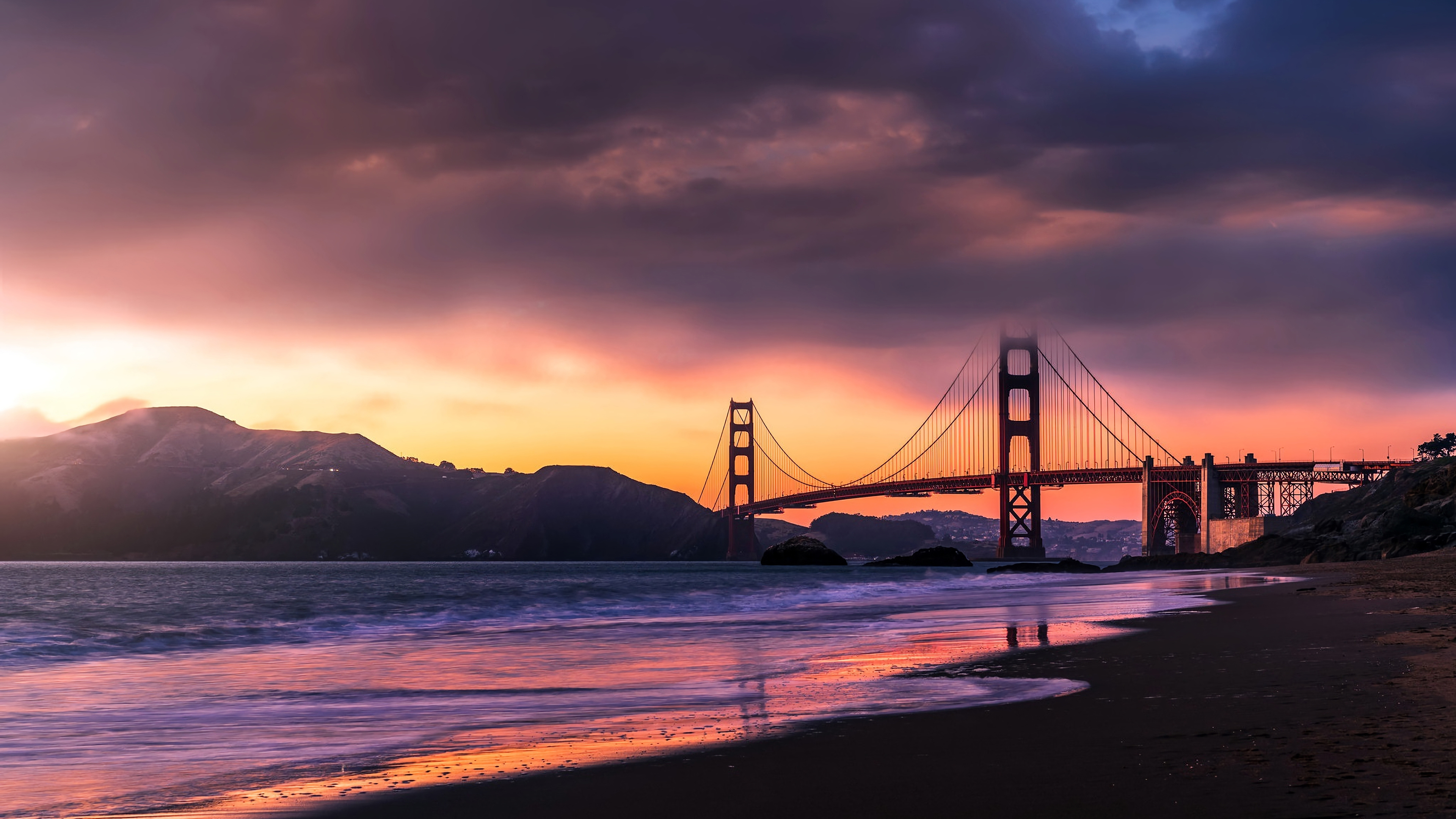 Wallpaper 4k Golden Gate Bridge Sanfrancicso 4k Wallpapers Bridge Wallpapers Golden Gate Bridge Wallpapers Hd Wallpapers San Francisco Wallpapers World Wallpapers