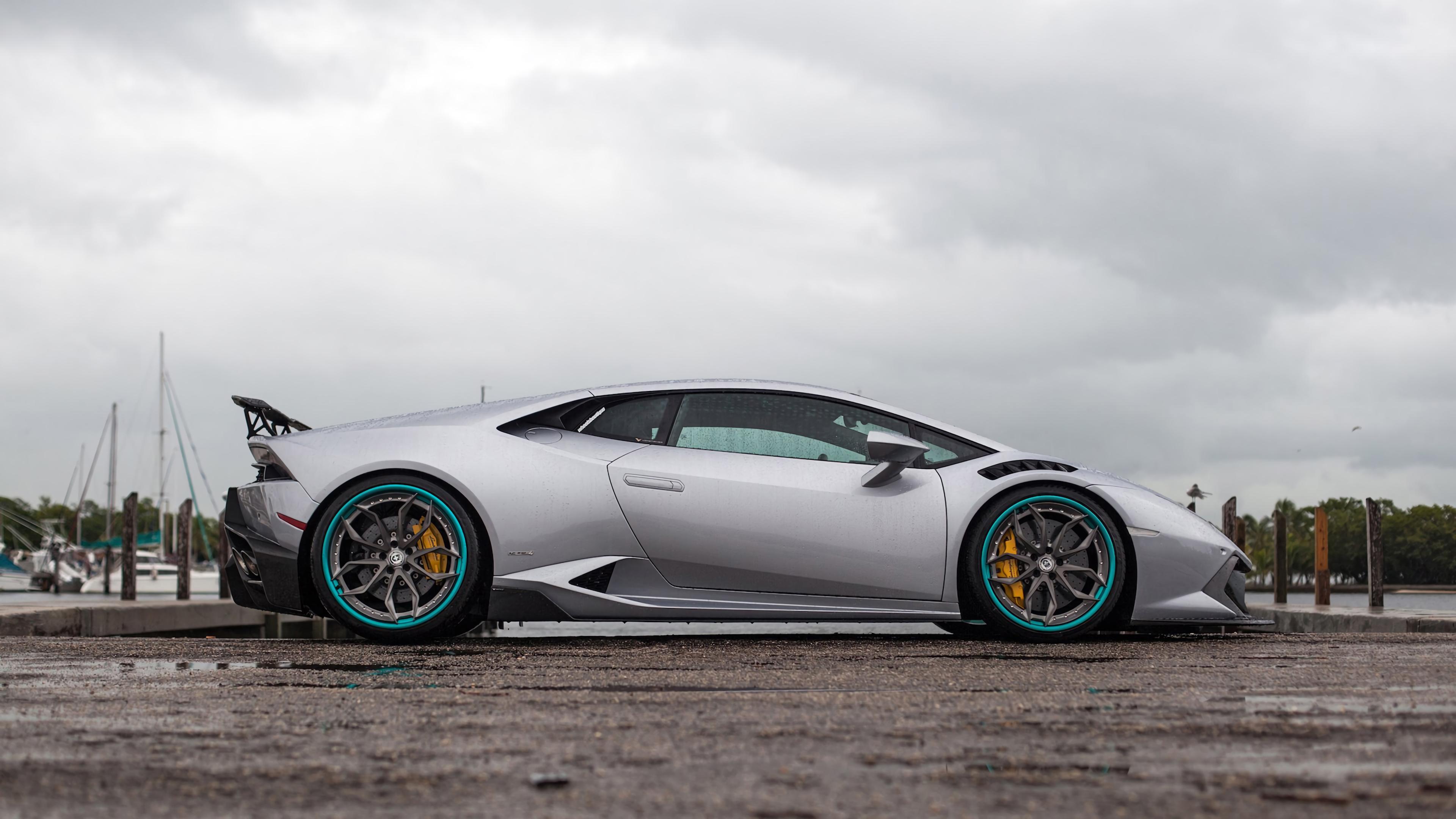 grey lamborghini huracan 2019 new 1569188587 - Grey Lamborghini Huracan 2019 New - lamborghini wallpapers, lamborghini huracan wallpapers, hd-wallpapers, cars wallpapers, 4k-wallpapers