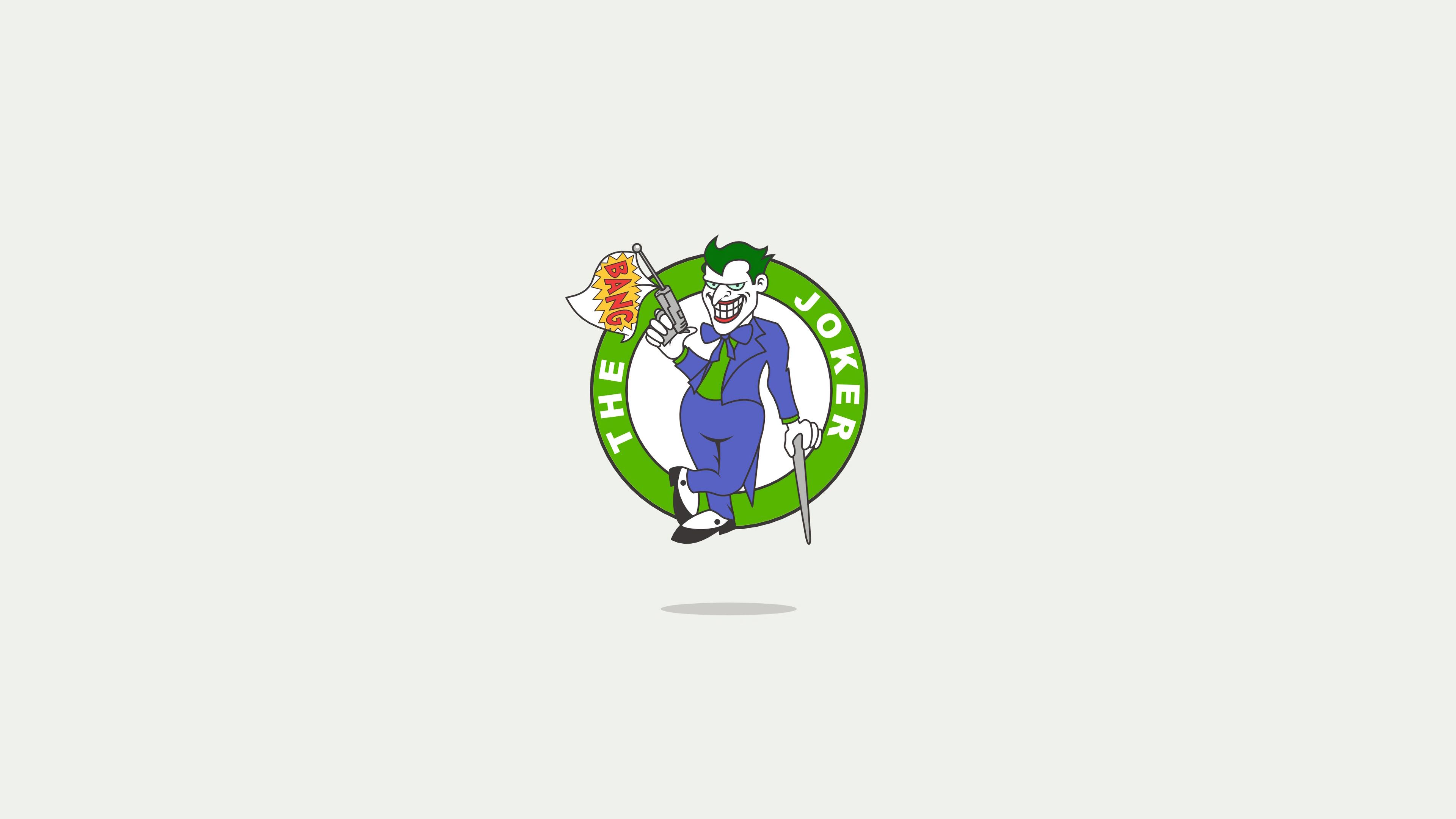 joker minimal logo 1568055517 - Joker Minimal Logo - superheroes wallpapers, minimalist wallpapers, minimalism wallpapers, joker wallpapers, hd-wallpapers, behance wallpapers, 4k-wallpapers
