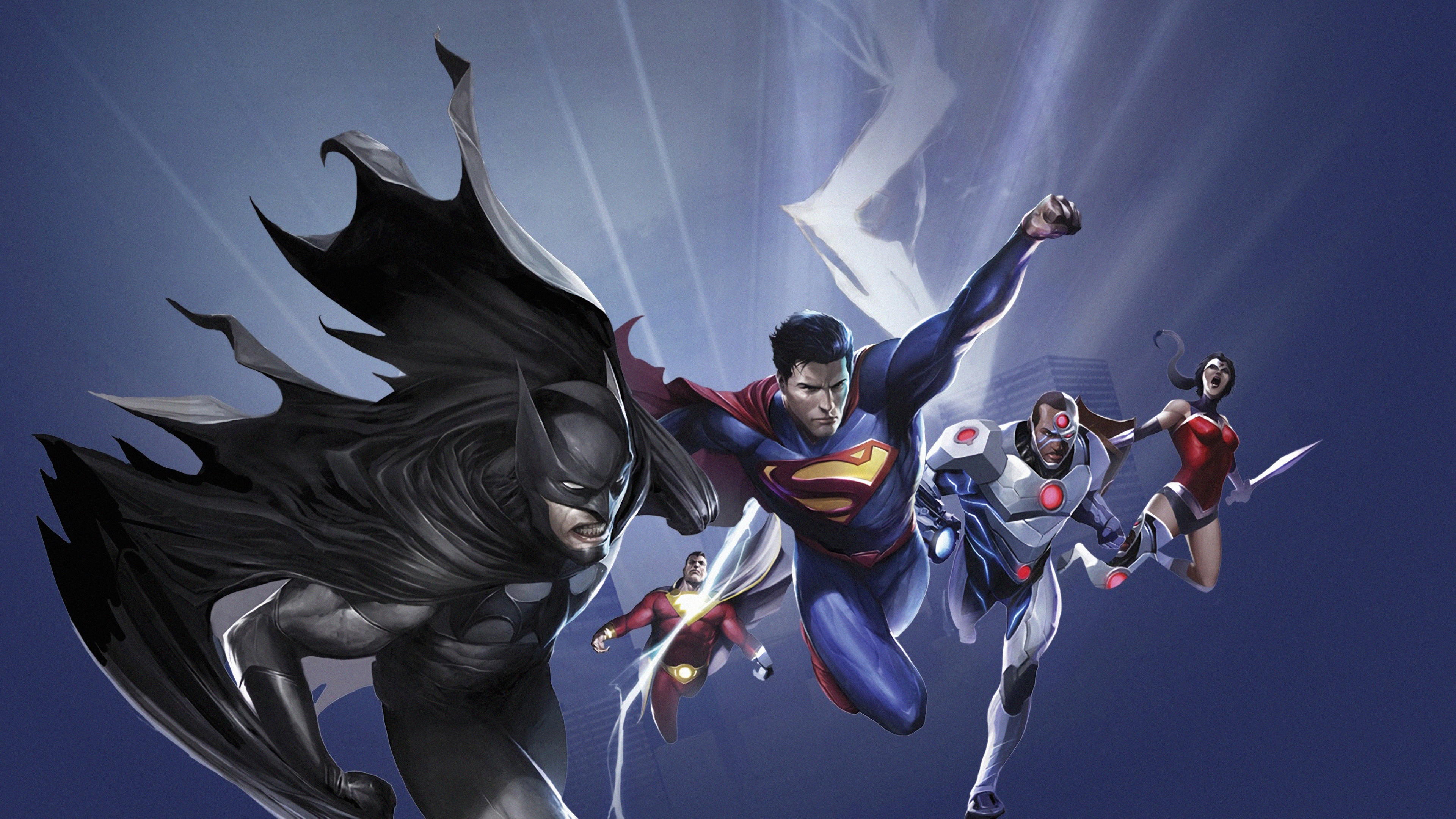 Wallpaper 4k Justice League War 4k Wallpapers Batman