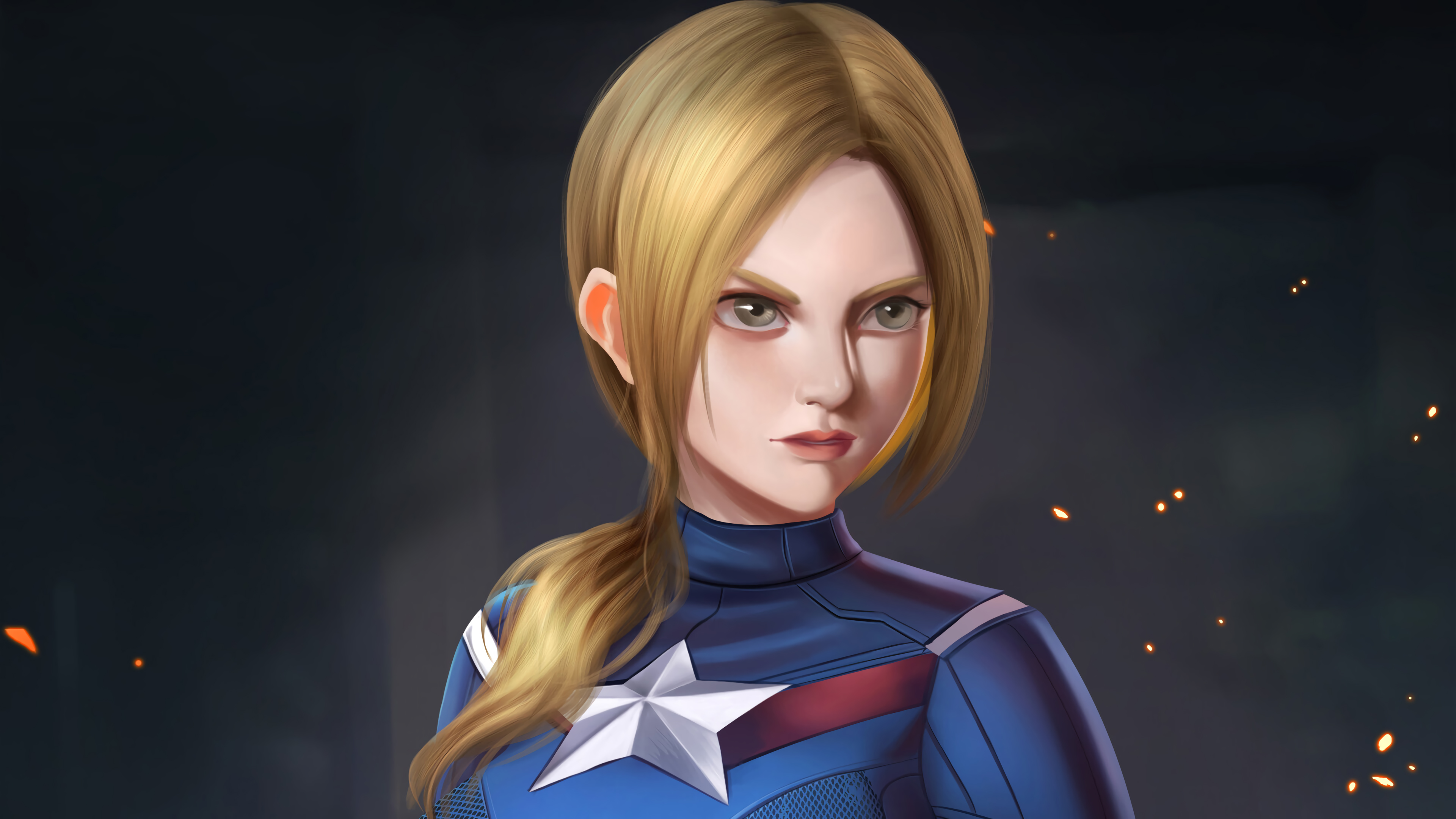 lady captain america 1568054096 - Lady Captain America - superheroes wallpapers, hd-wallpapers, captain america wallpapers, artwork wallpapers, artstation wallpapers, 4k-wallpapers