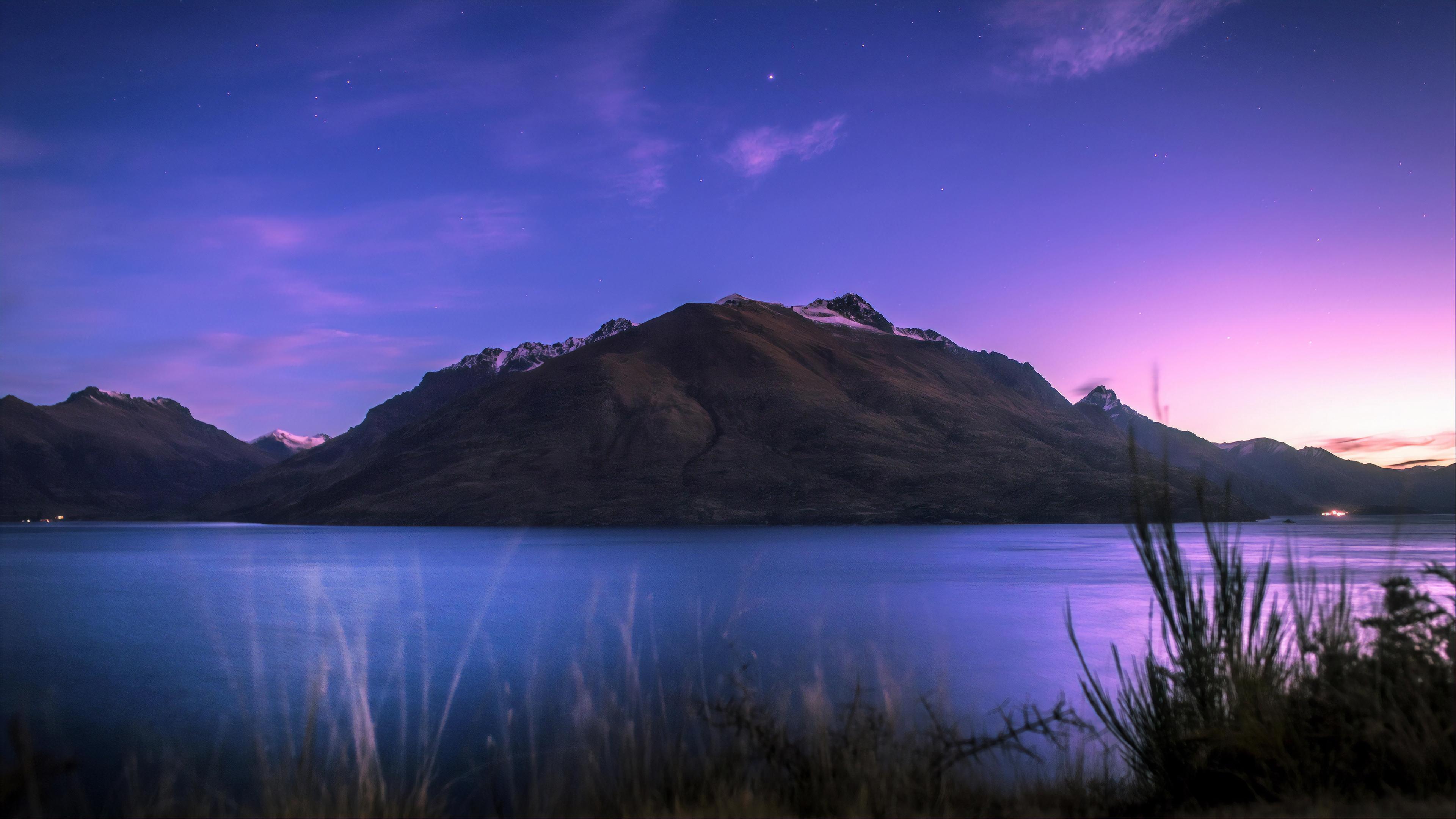 Wallpaper 4k Lake Wakatipu In Newzealand 4k Wallpapers Hd