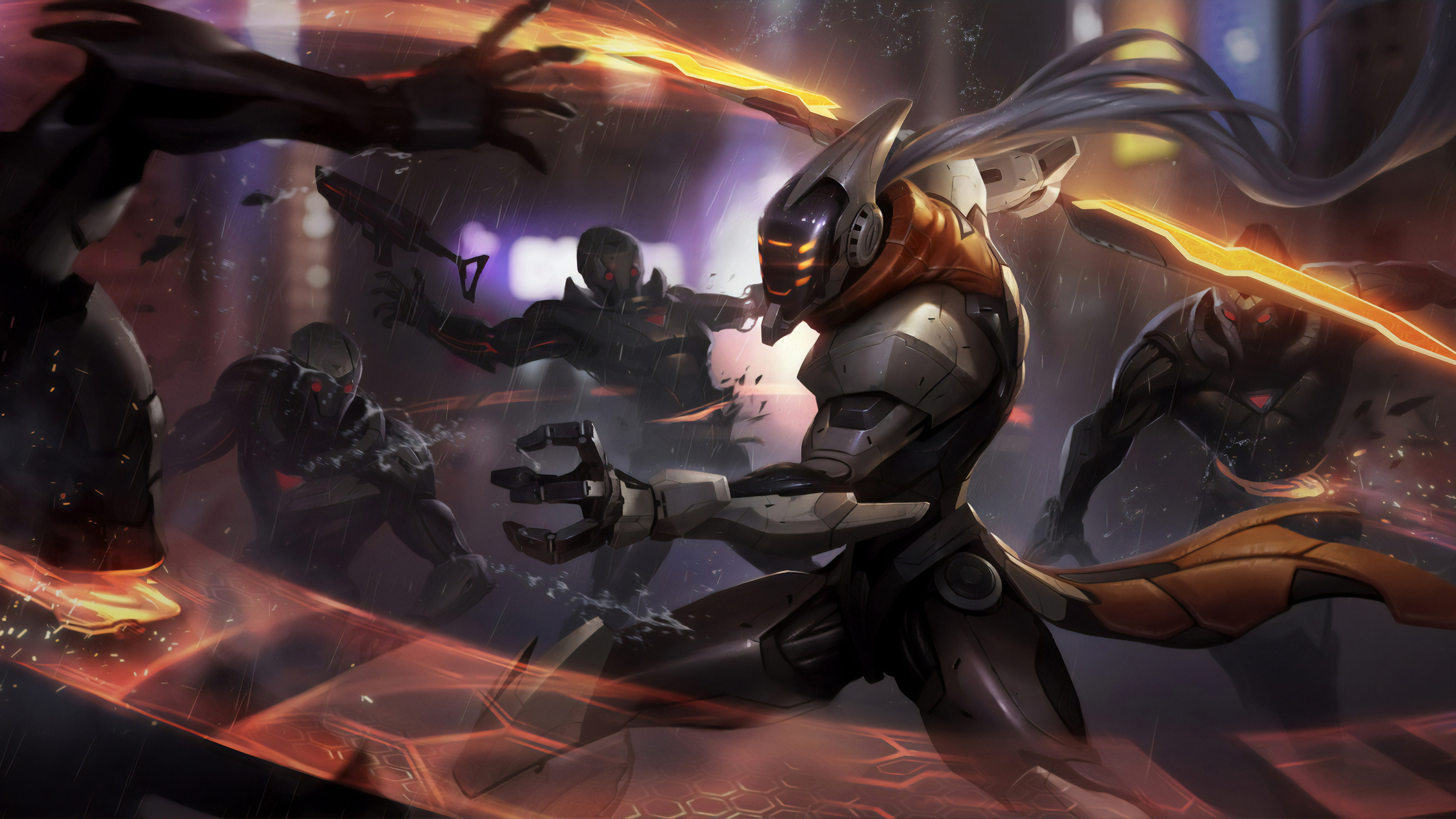 league of legends covered in enemies 1568056178 - League Of Legends Covered In Enemies - league of legends wallpapers, hd-wallpapers, games wallpapers, artstation wallpapers, 4k-wallpapers