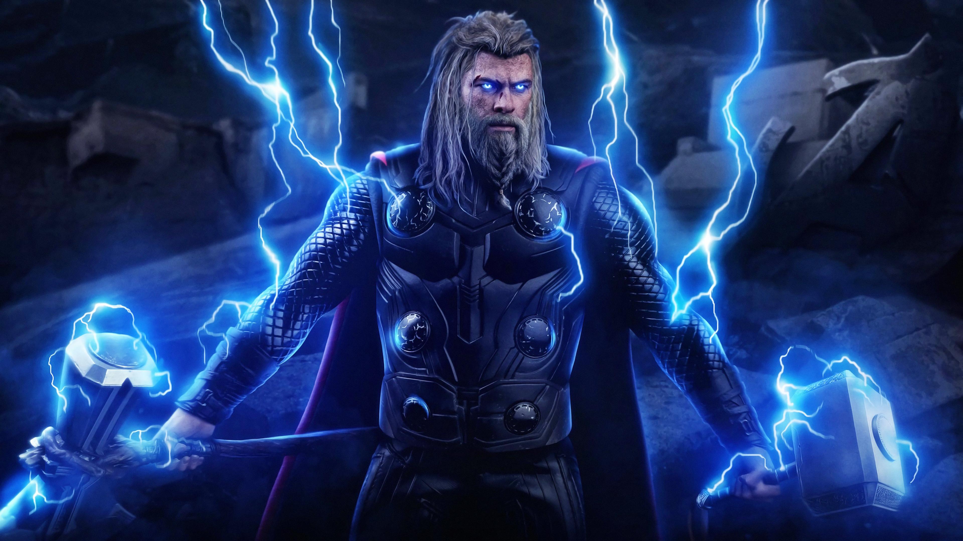 Wallpaper 4k New Thor Avengers Endgame 4k Wallpapers