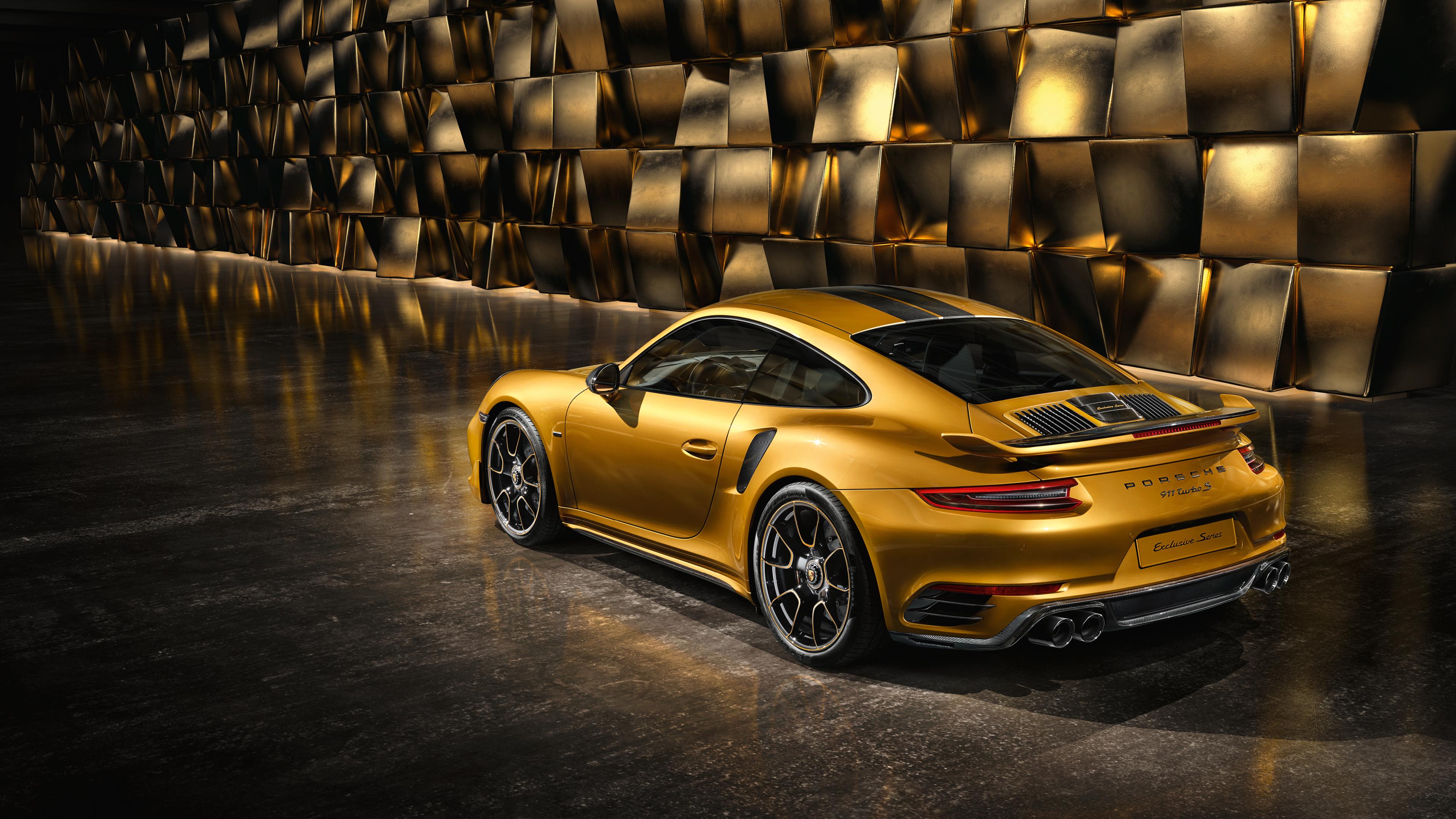 Wallpaper 4k Porsche 991 Ii Turbo Rear 4k Wallpapers