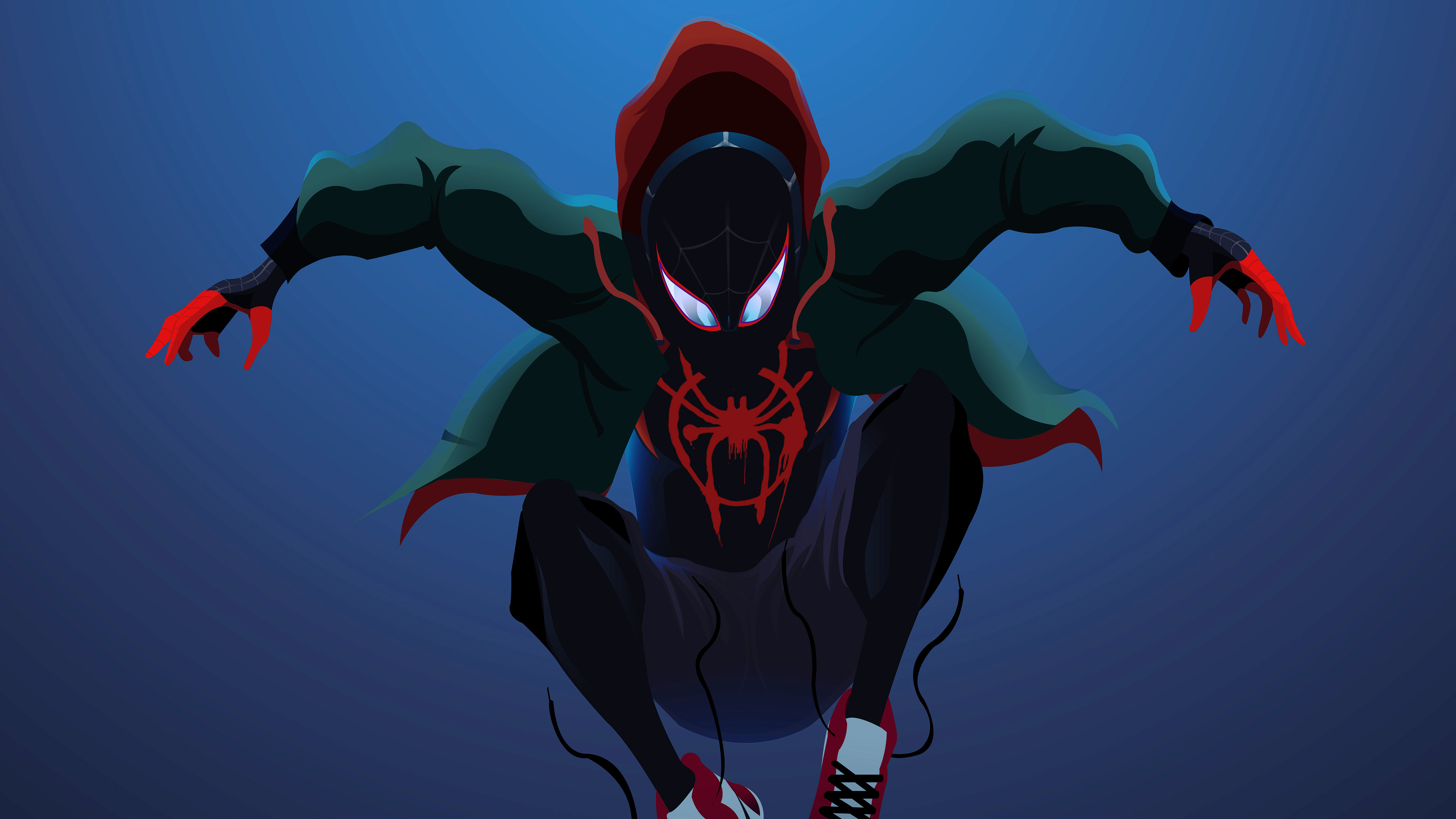 Spider Man Miles superheroes wallpapers, spiderman ...