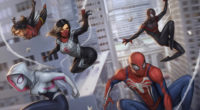 spider verse gang heroes 1568054247 200x110 - Spider Verse Gang Heroes - superheroes wallpapers, spiderman wallpapers, spiderman into the spider verse wallpapers, hd-wallpapers, digital art wallpapers, artwork wallpapers, artstation wallpapers, artist wallpapers, 4k-wallpapers