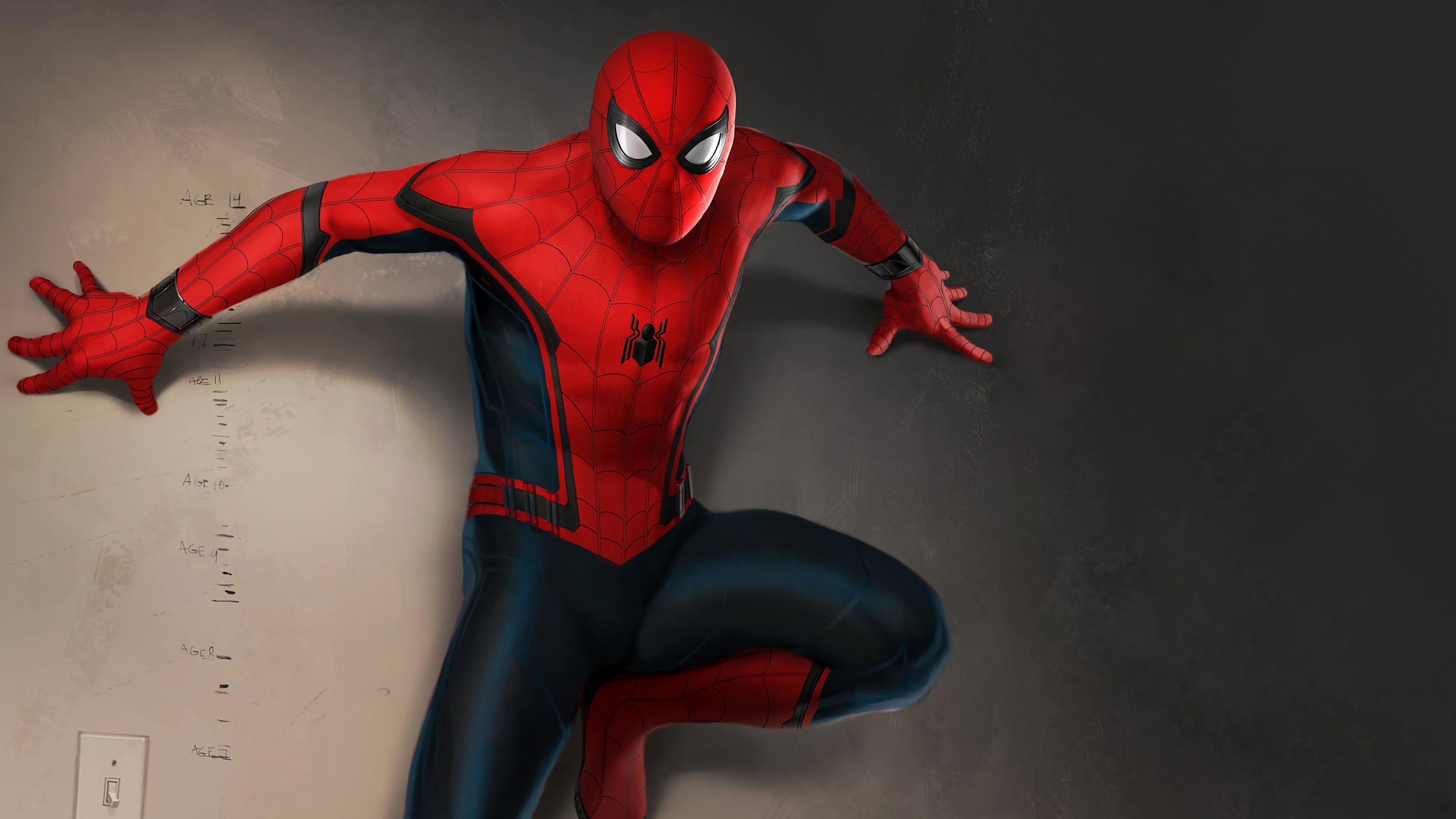 spiderman artnew 1568054843 - Spiderman Artnew - superheroes wallpapers, spiderman wallpapers, hd-wallpapers, digital art wallpapers, artwork wallpapers, artstation wallpapers, art wallpapers, 4k-wallpapers