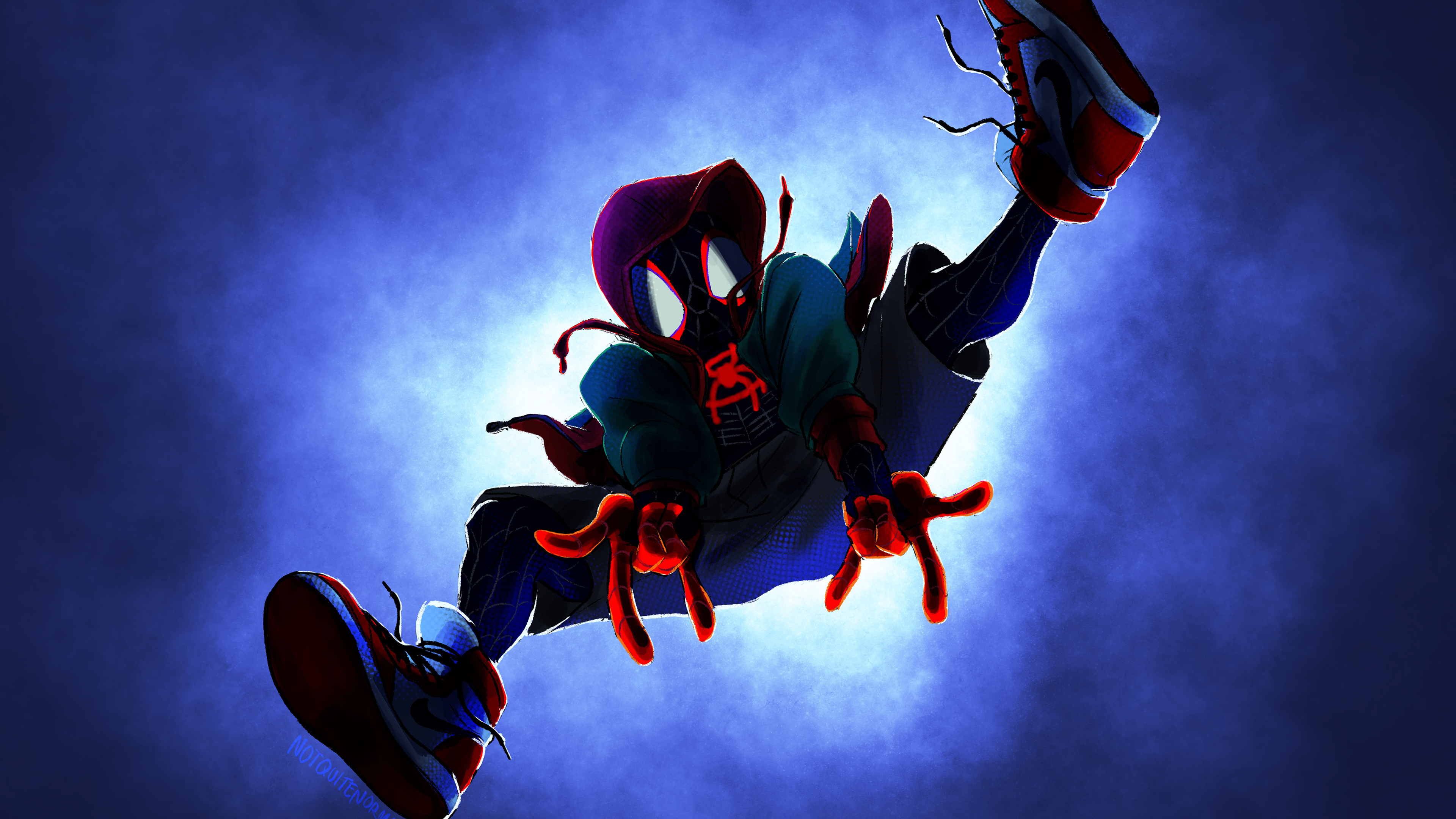 spiderman into the spider verse 1568055014 - Spiderman Into The Spider Verse - superheroes wallpapers, spiderman wallpapers, spiderman into the spider verse wallpapers, hd-wallpapers, digital art wallpapers, deviantart wallpapers, artwork wallpapers, artist wallpapers, 4k-wallpapers