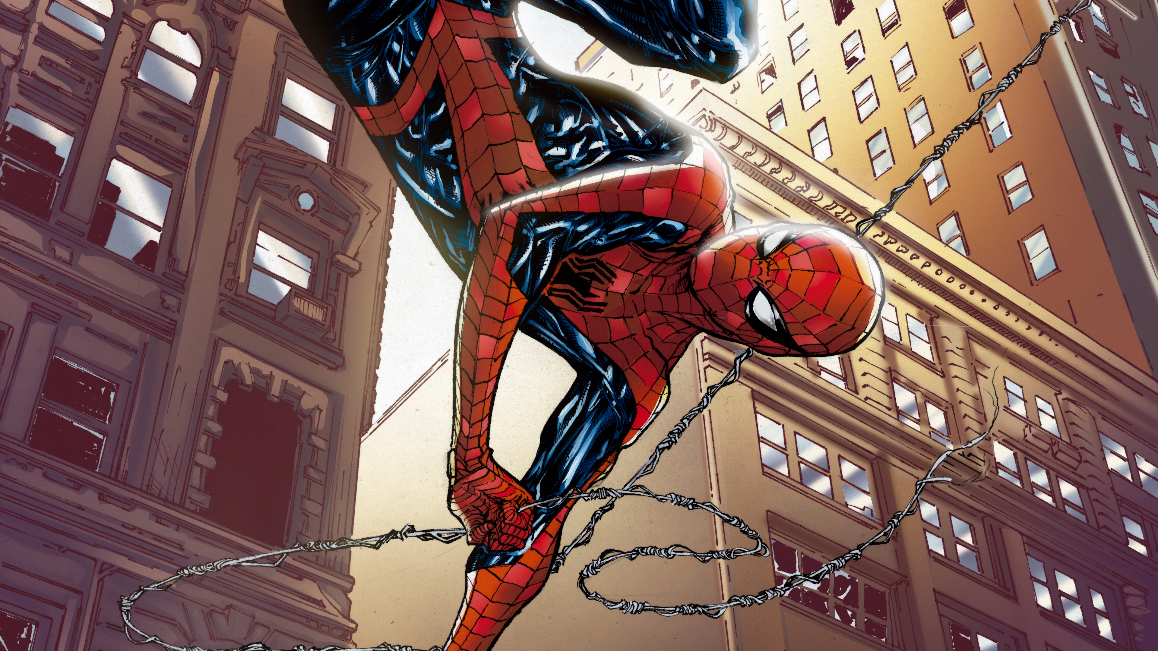 spiderman lets save the city 1568054367 - Spiderman Lets Save The City - superheroes wallpapers, spiderman wallpapers, hd-wallpapers, digital art wallpapers, deviantart wallpapers, artwork wallpapers, artist wallpapers, 5k wallpapers, 4k-wallpapers