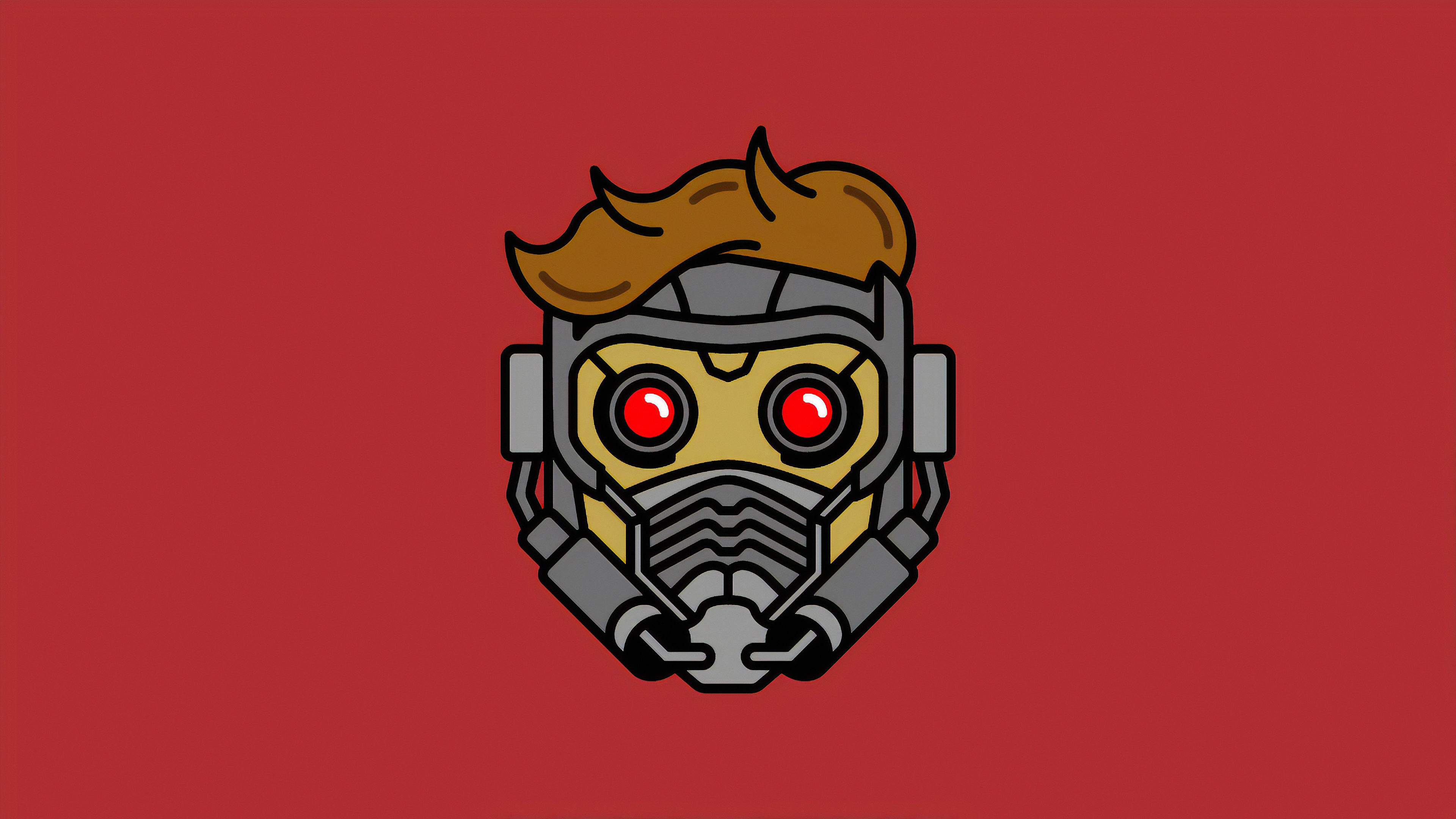 star lord mask minimal 1568054852 - Star Lord Mask Minimal - superheroes wallpapers, star lord wallpapers, hd-wallpapers, digital art wallpapers, behance wallpapers, artwork wallpapers, 4k-wallpapers
