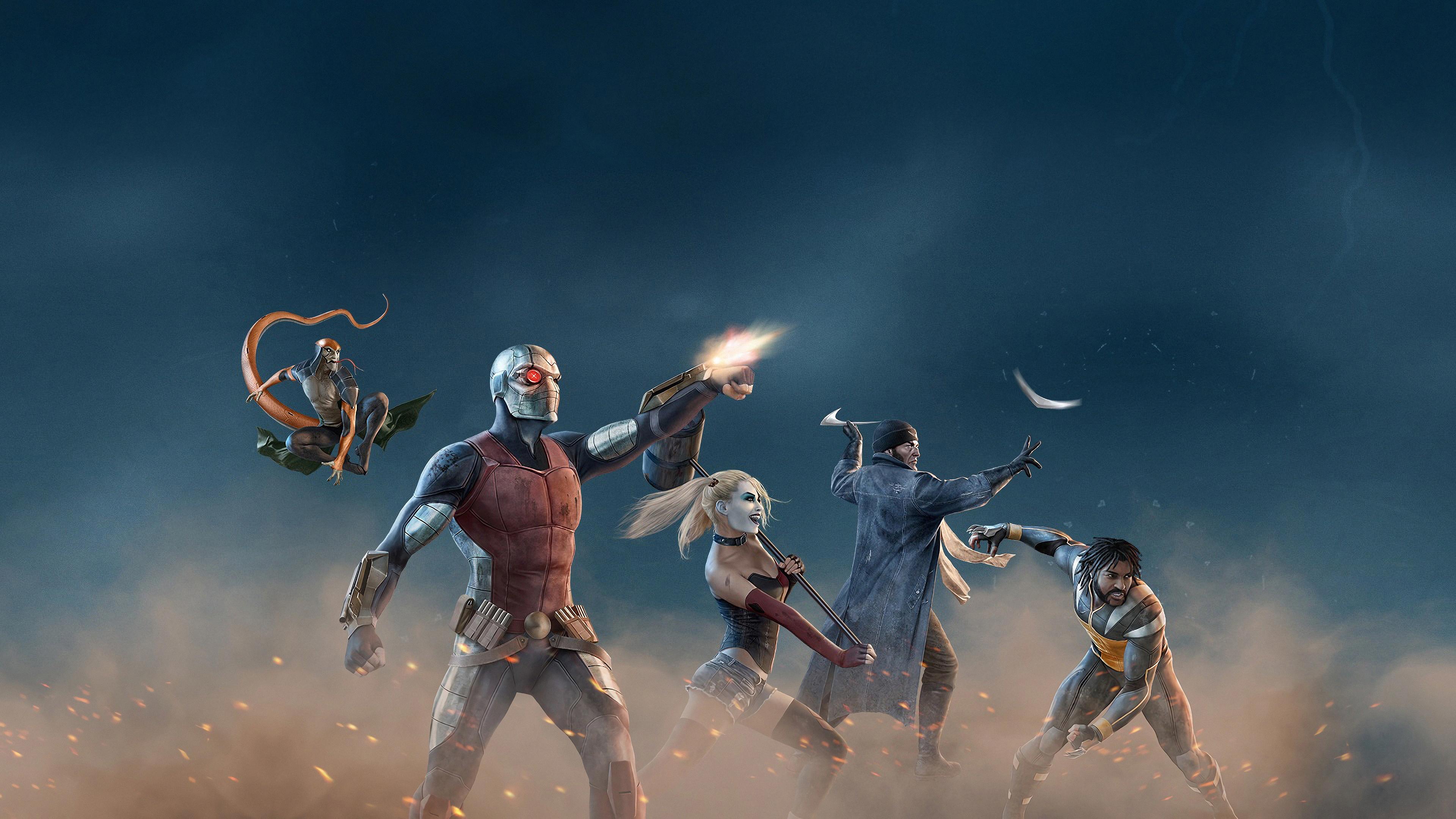 sucide squad team 1569186344 - Sucide Squad Team - superheroes wallpapers, suicide squad wallpapers, hd-wallpapers, artwork wallpapers, 4k-wallpapers