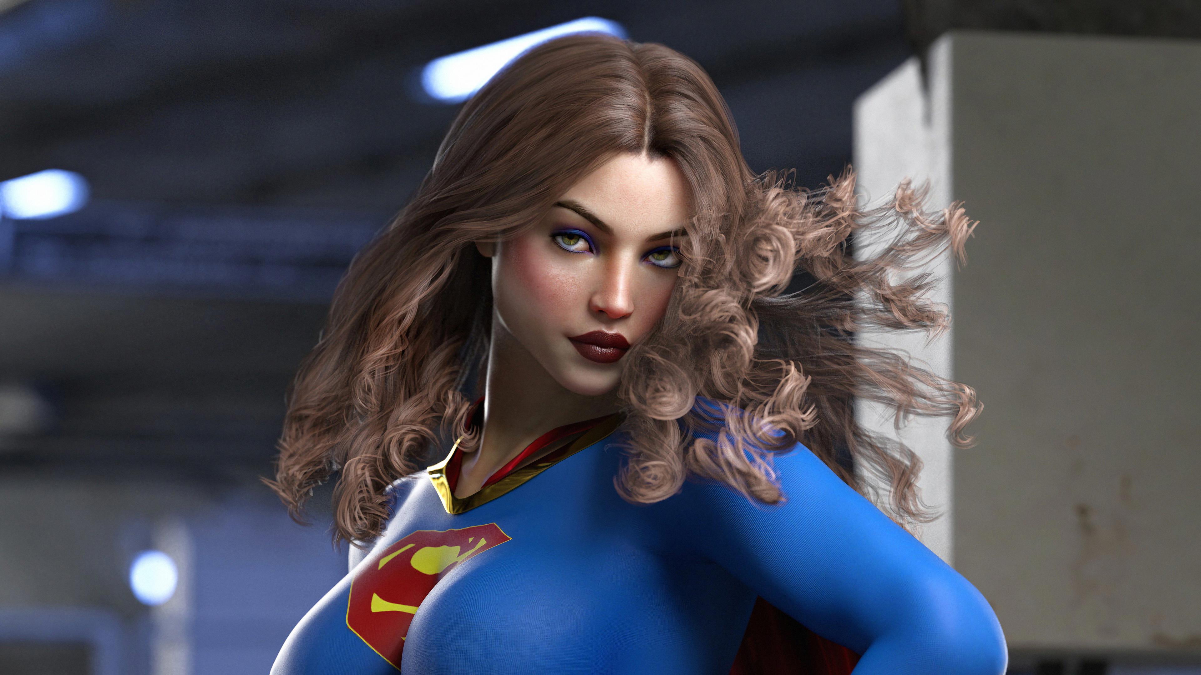 supergirl digital arts 1569186765 - Supergirl Digital Arts - superheroes wallpapers, supergirl wallpapers, hd-wallpapers, digital art wallpapers, artwork wallpapers, artstation wallpapers, 4k-wallpapers